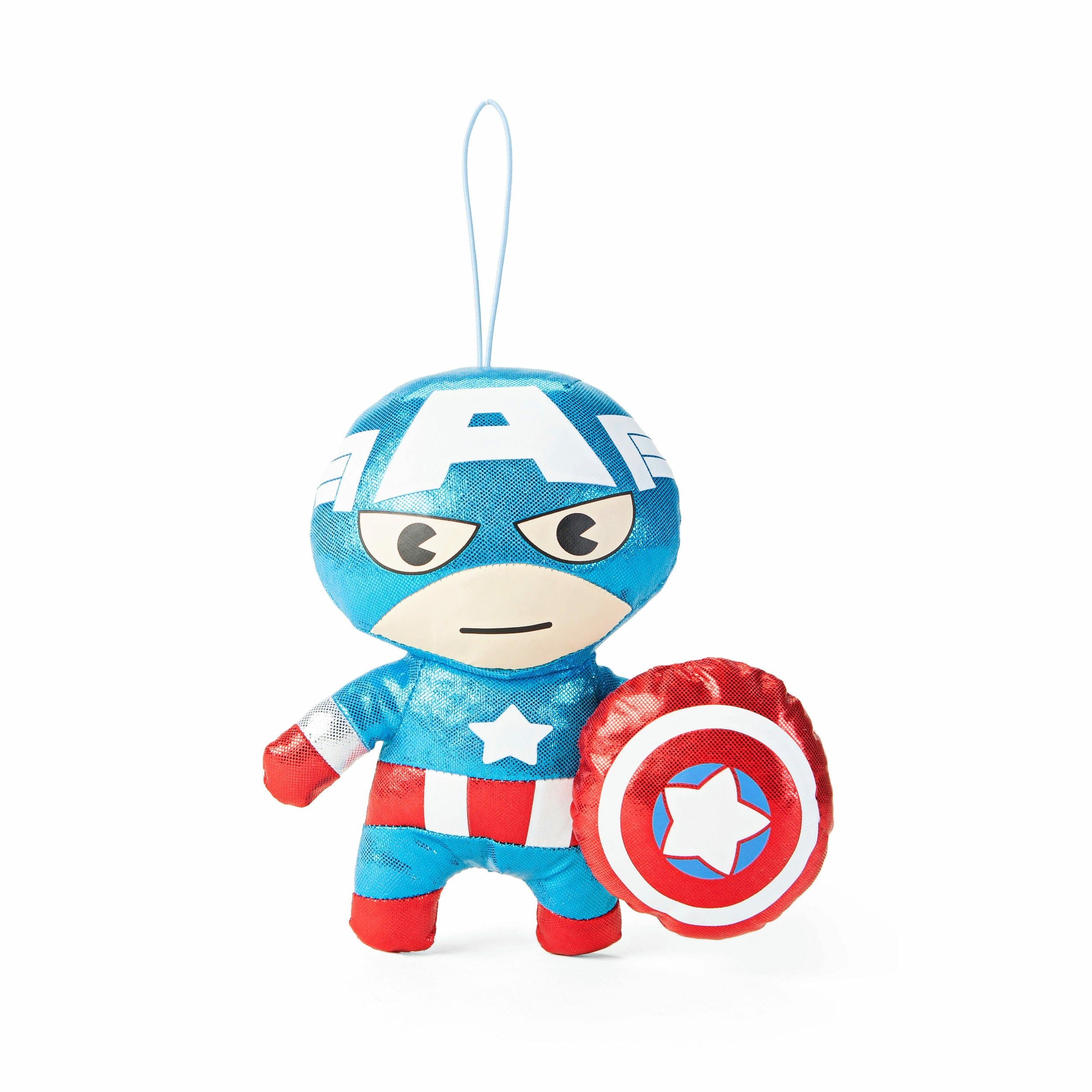 Marvel Kawaii Art Collection Gloss Captain America Plush Toy