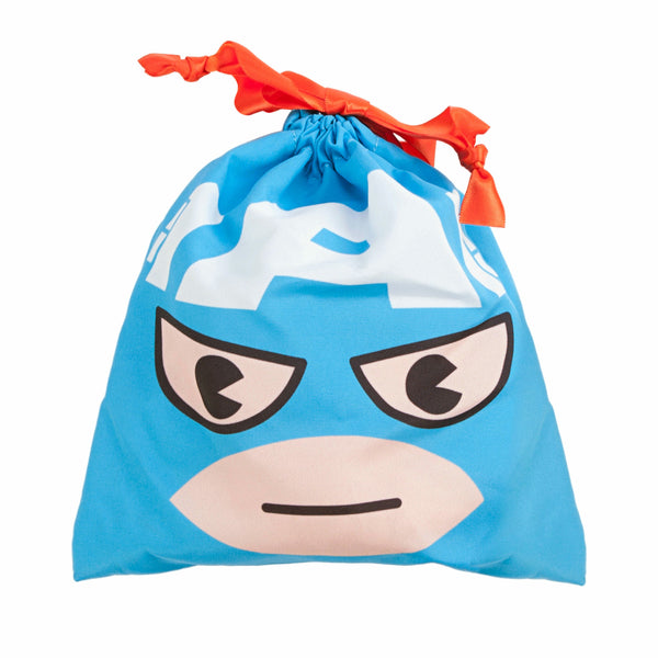 Marvel Kawaii Art Collection Captain America Face Purse