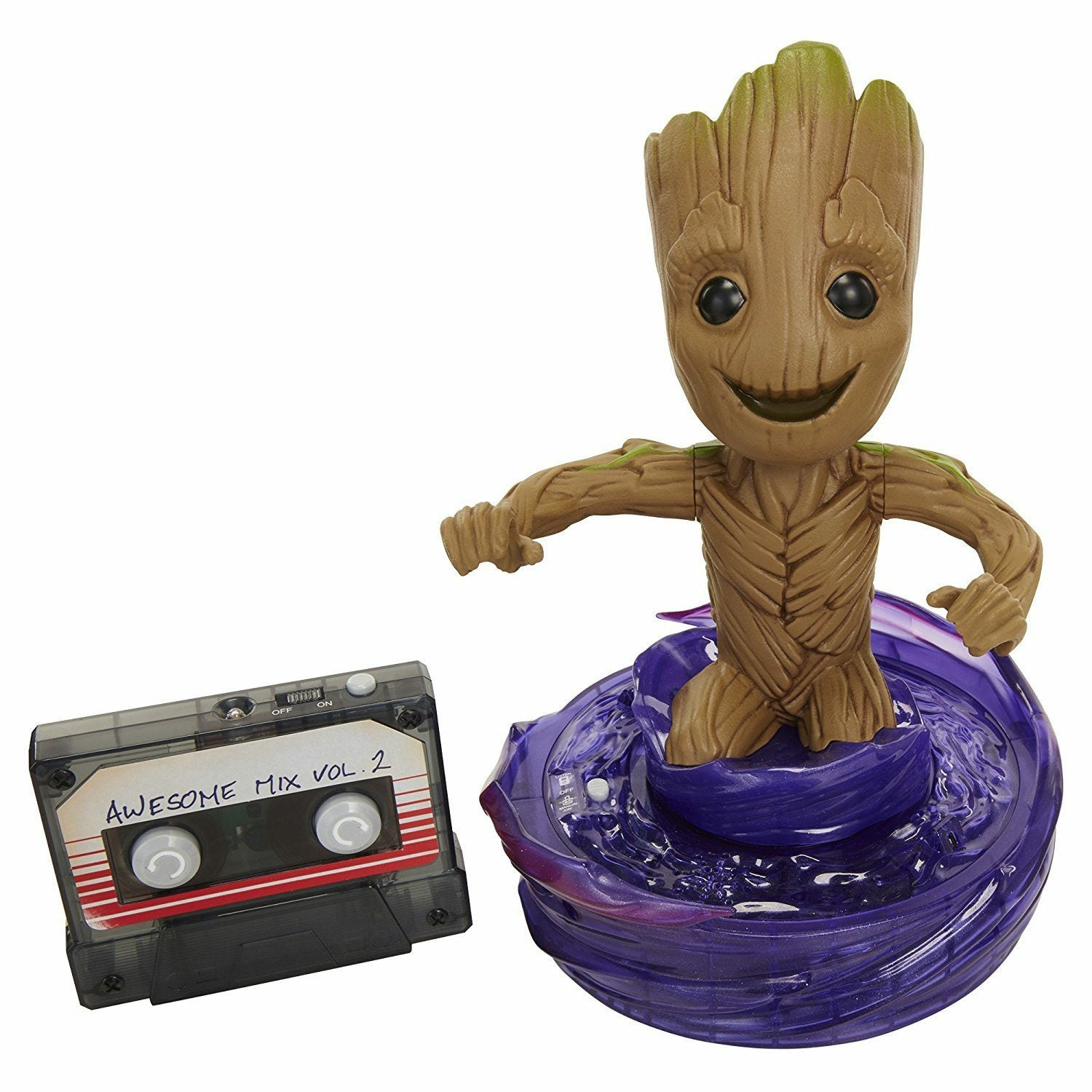 Marvel Guardians of the Galaxy 2 Rock N Roll Groot IR Ver. RC XPV Figure