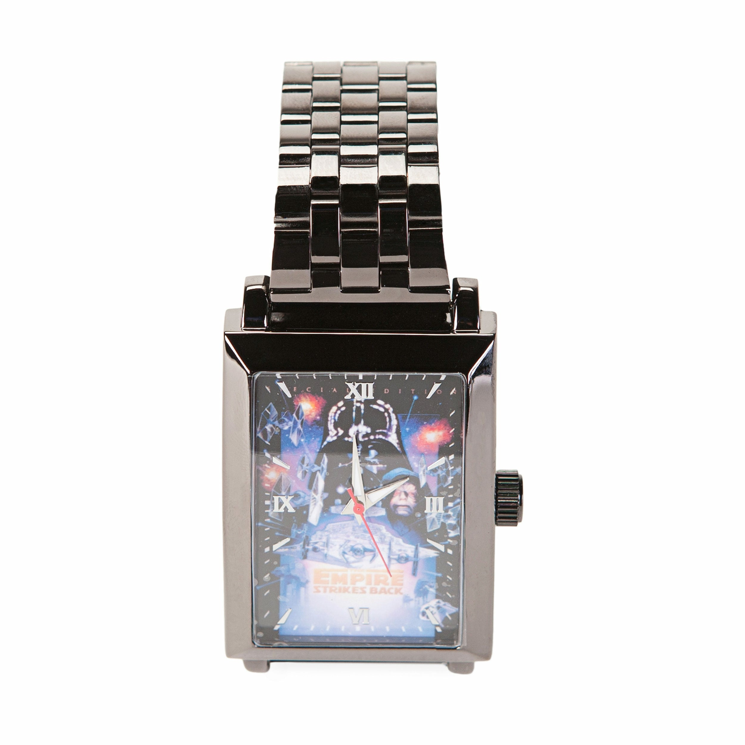 Star Wars Vol. 2 The Empire Strikes Back Square Frame Metal Wrist Watch