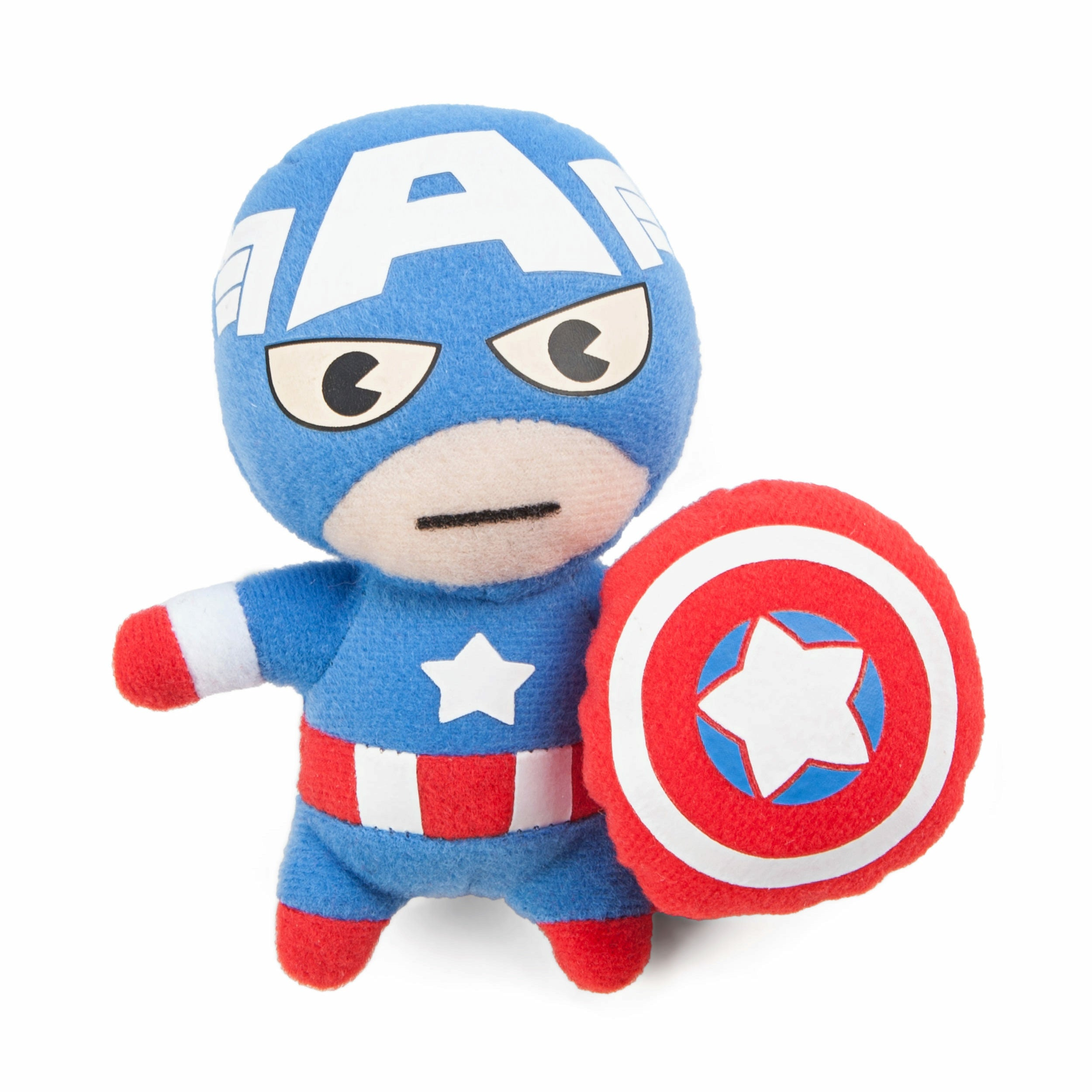 Marvel Kawaii Art Collection Captain America Safety Pin Plush Toy