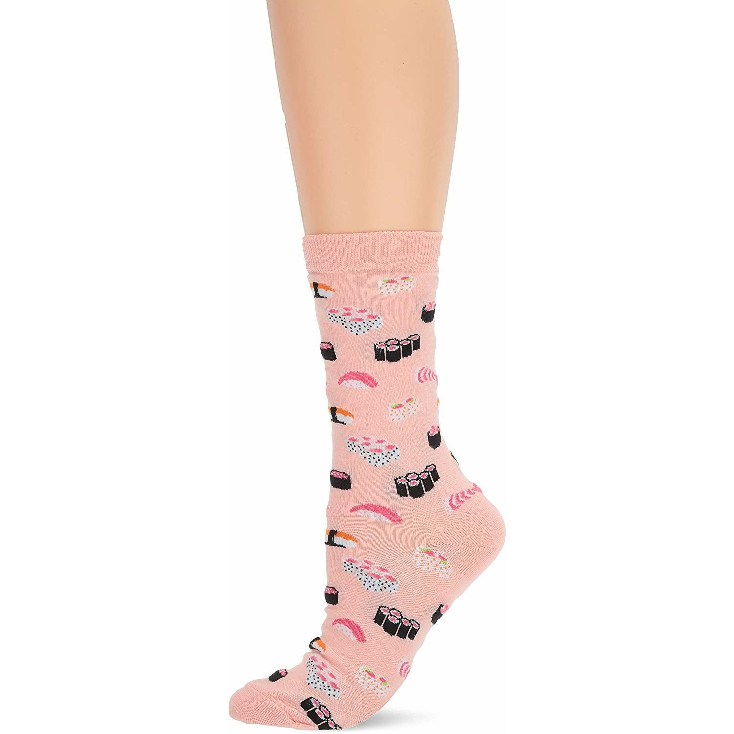 Hot Sox Sushi Womens Crew Socks