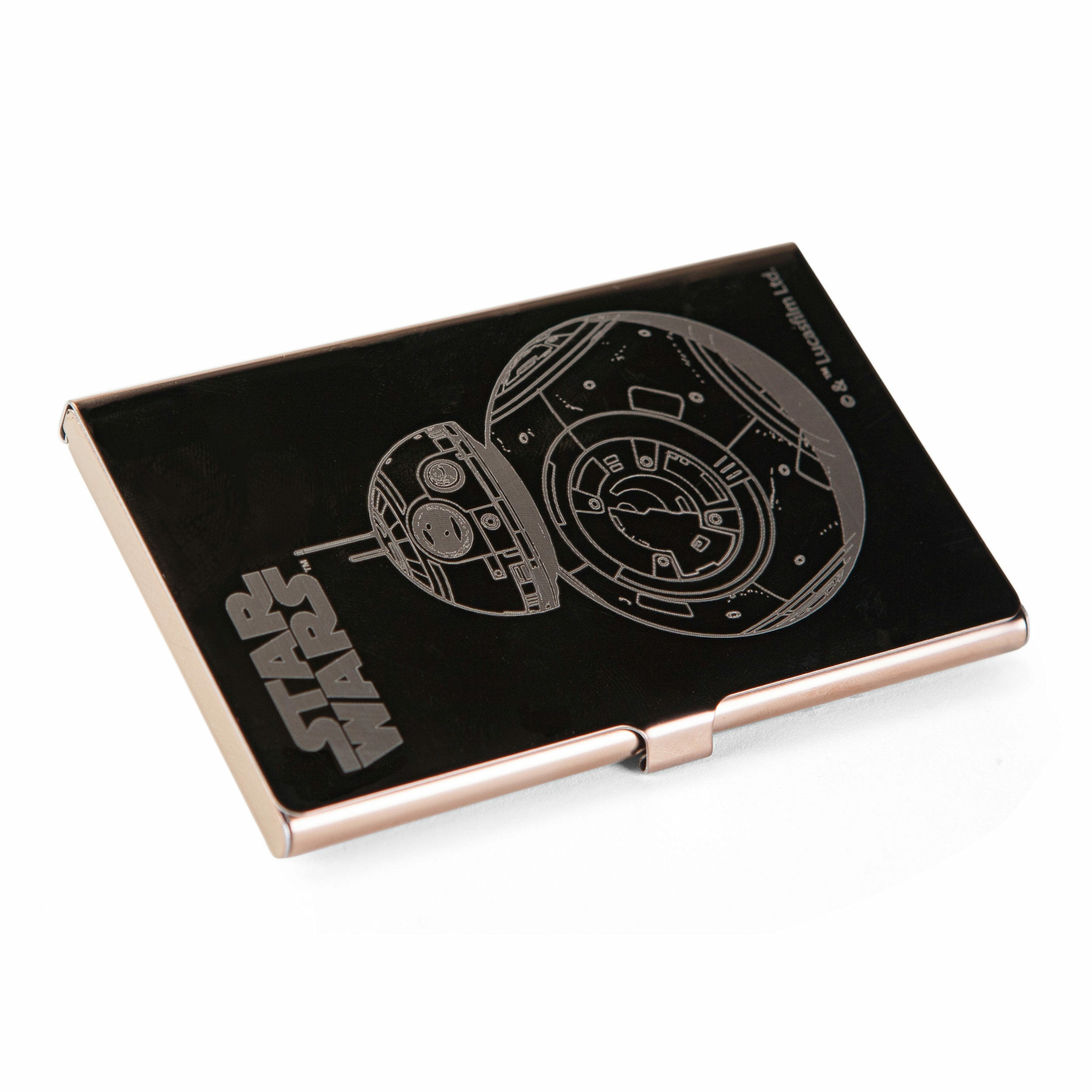 Star Wars The Force Awakens BB-8 Stainless Steel Card Case