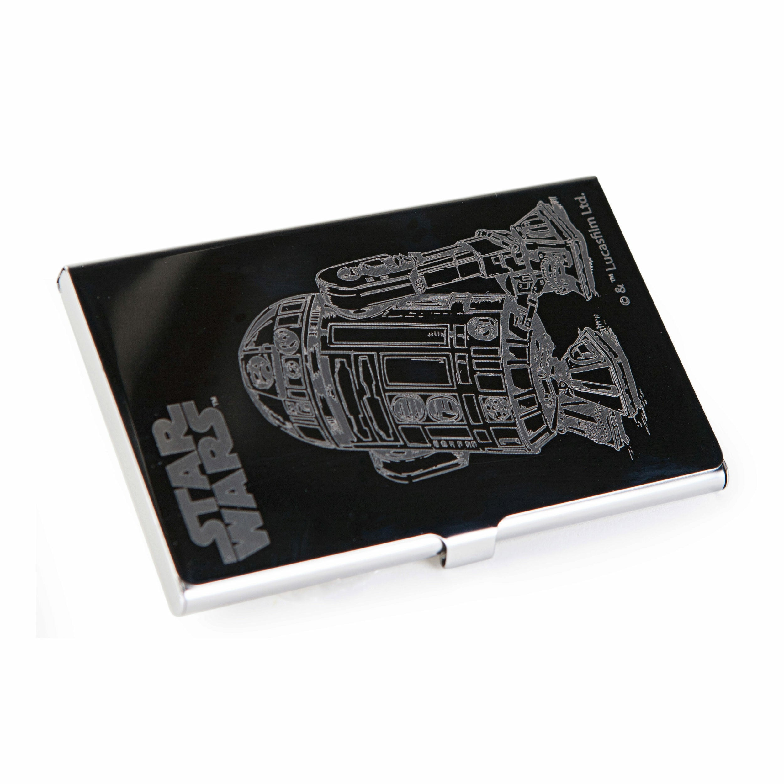 Star Wars The Force Awakens R2-D2 Stainless Steel Card Case