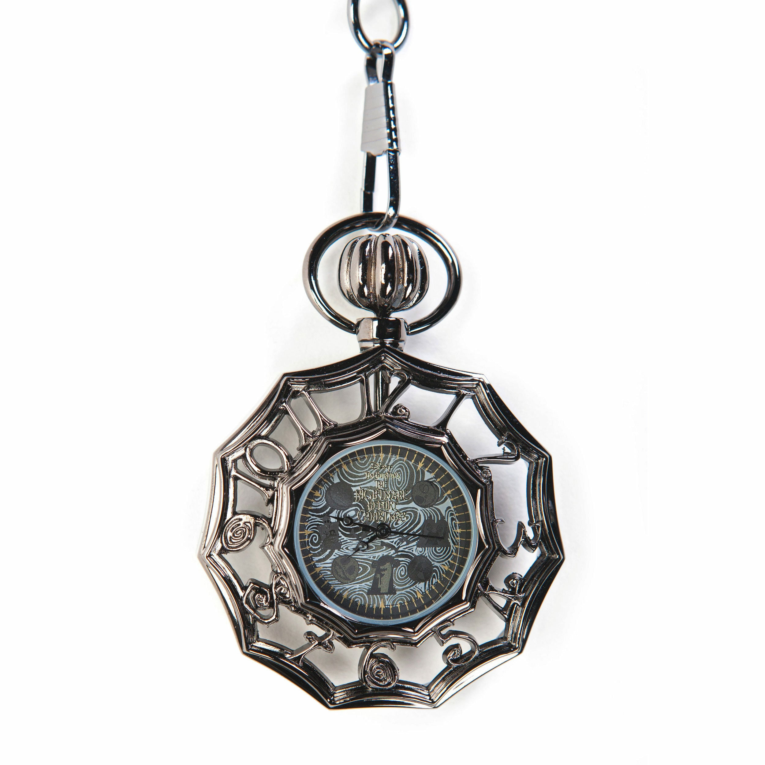 The Nightmare Before Christmas Jack Collage Pocket Watch