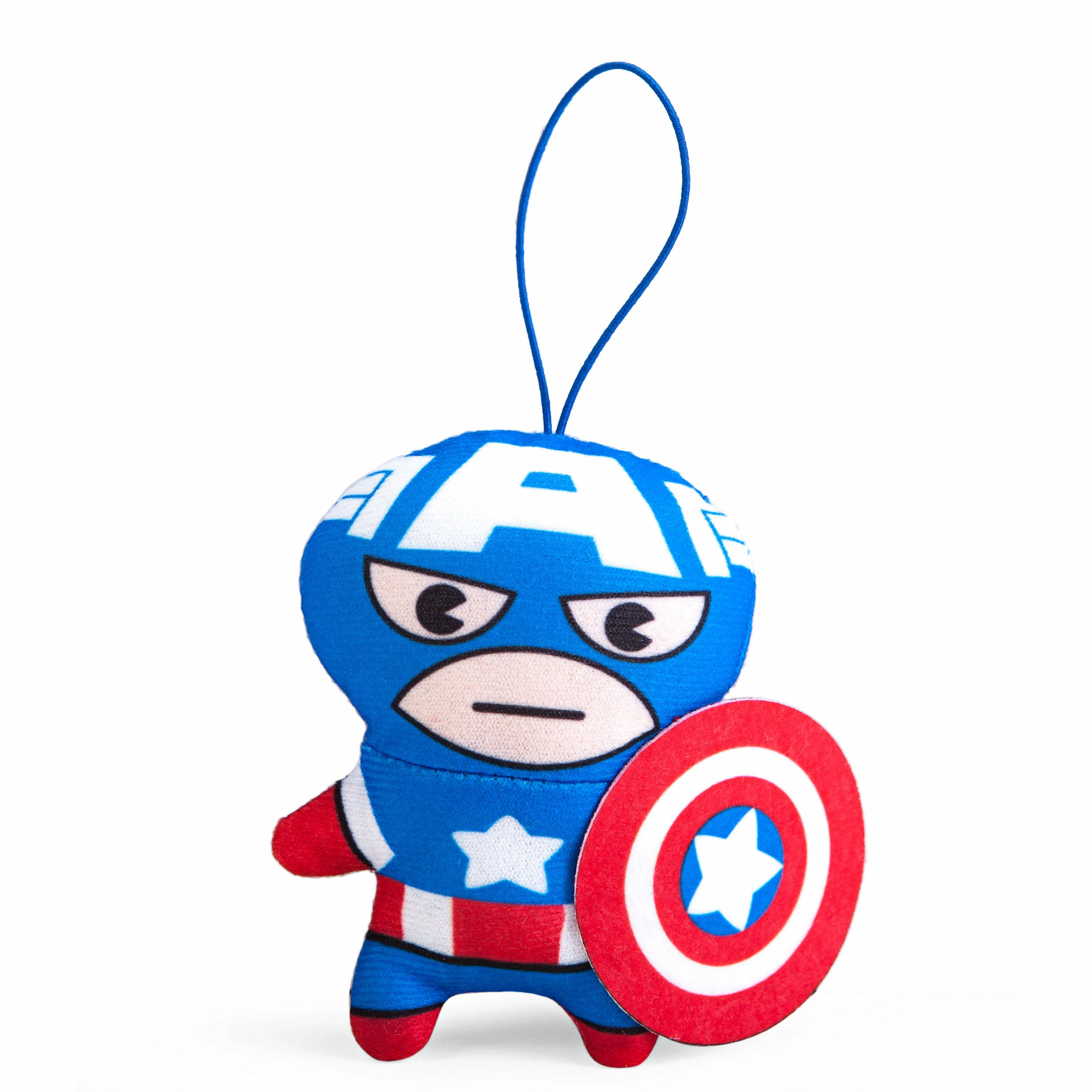 Marvel Captain America Kawaii Art Collection Plush Toy