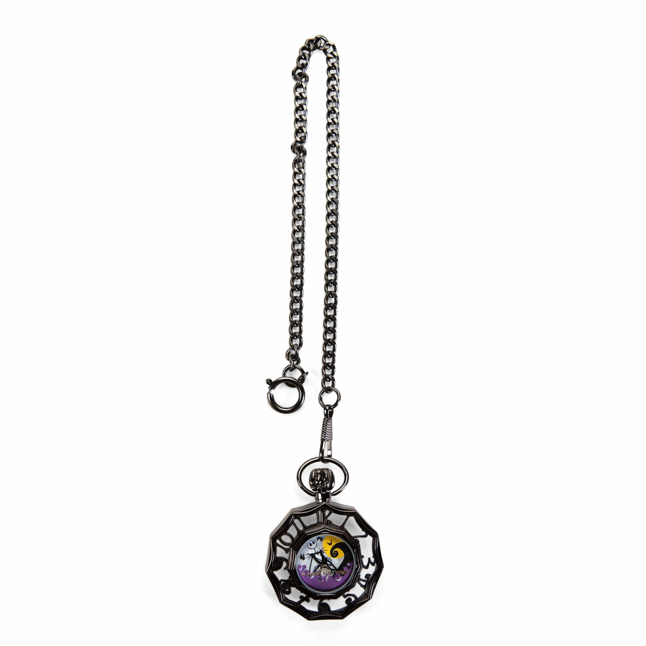 The Nightmare Before Christmas Jack Skellington Purple Ver. 2 Pocket Watch