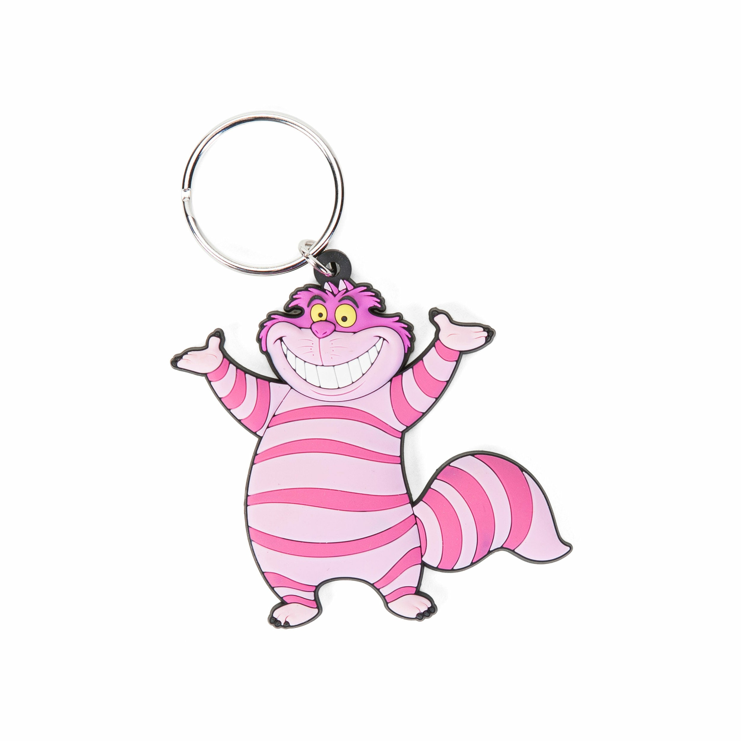 Alice in Wonderland Cheshire Cat Soft Touch PVC Keychain