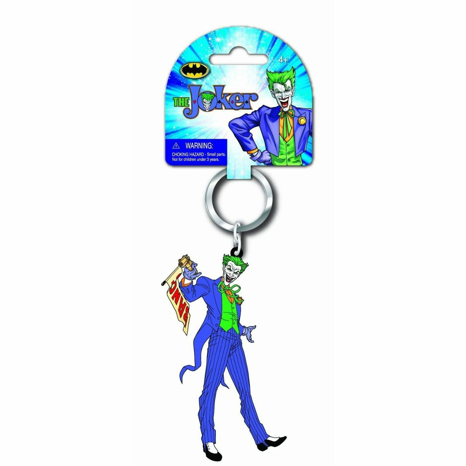 DC Comics The Joker Soft Touch PVC Keychain