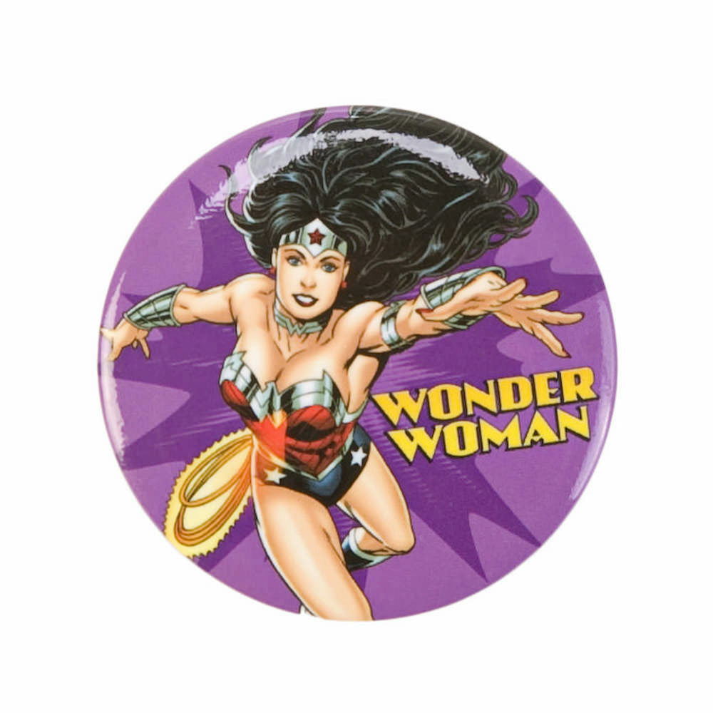 DC Comics Wonder Woman Flying 1.25 Inch Button