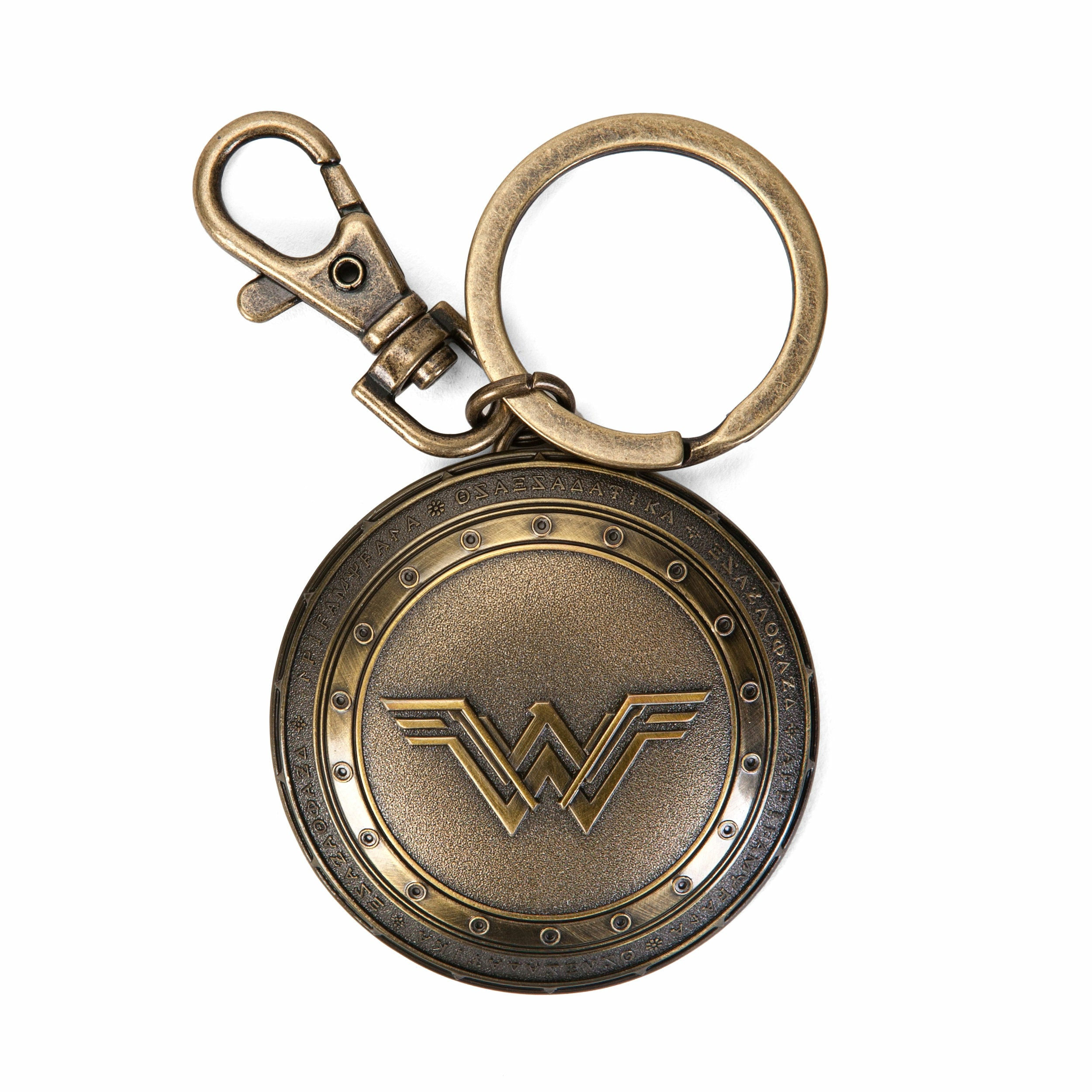 DC Comics Batman vs. Superman Wonder Woman Shield Keychain