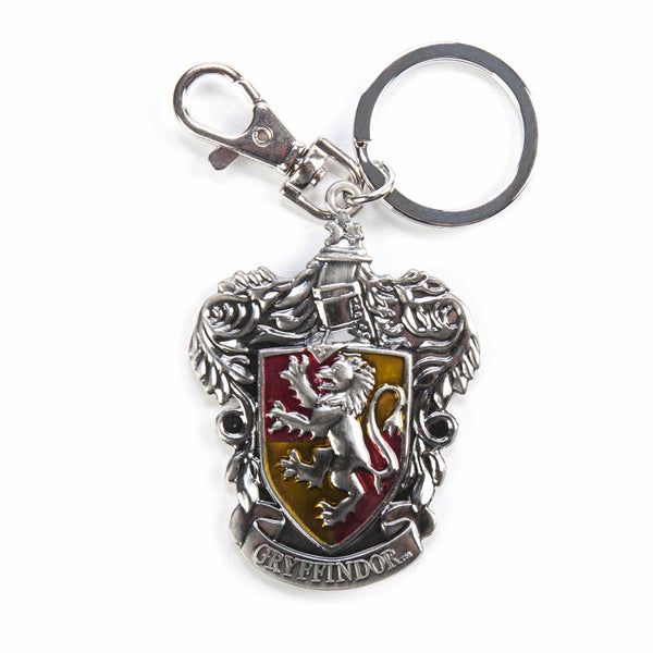 Harry Potter Gryffindor Crest Pewter Keychain