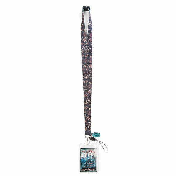 Fantastic Beasts and Where to Find Them Magical Welcome Charm Lanyard