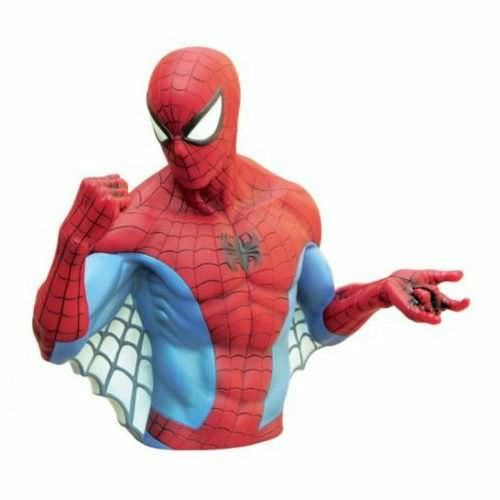 Marvel The Amazing Spider-Man Bust Bank