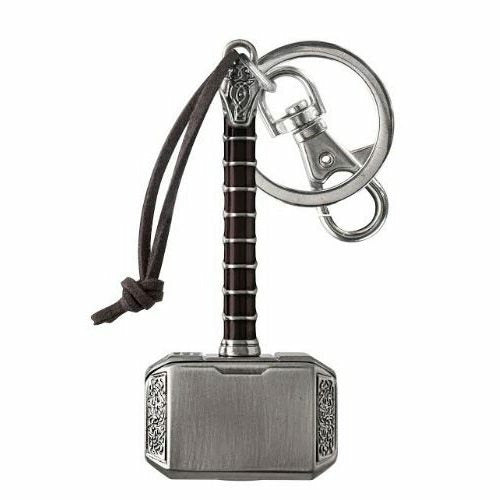 Marvel Thor 2 the Dark World Hammer Pewter Keychain