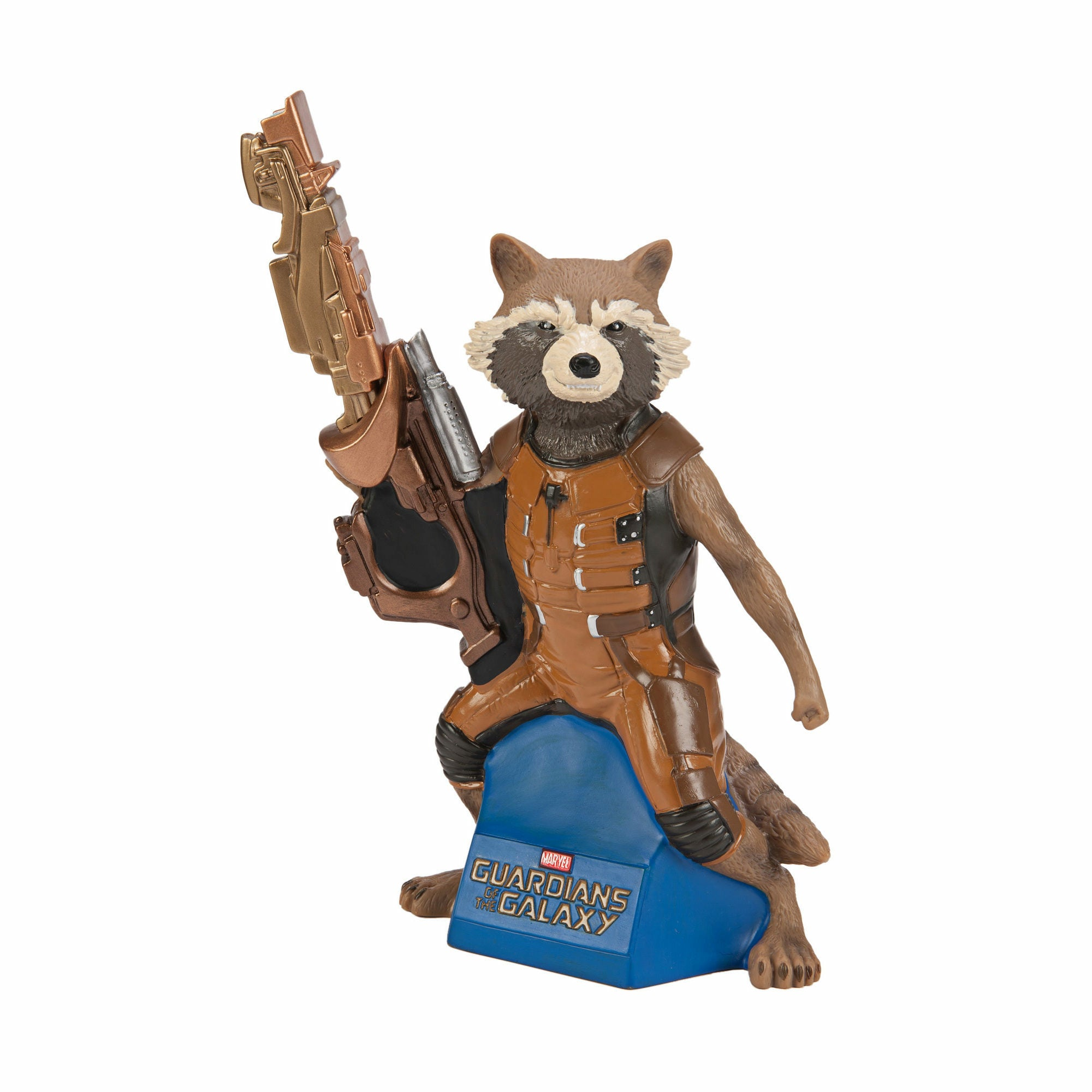 Marvel Guardians of the Galaxy Rocket Raccoon Figural Coin Bank - EE Exclusive
