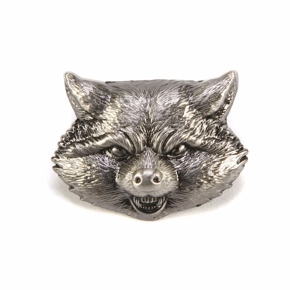 Marvel Guardians of the Galaxy Rocket Raccoon Head Pewter Lapel Pin