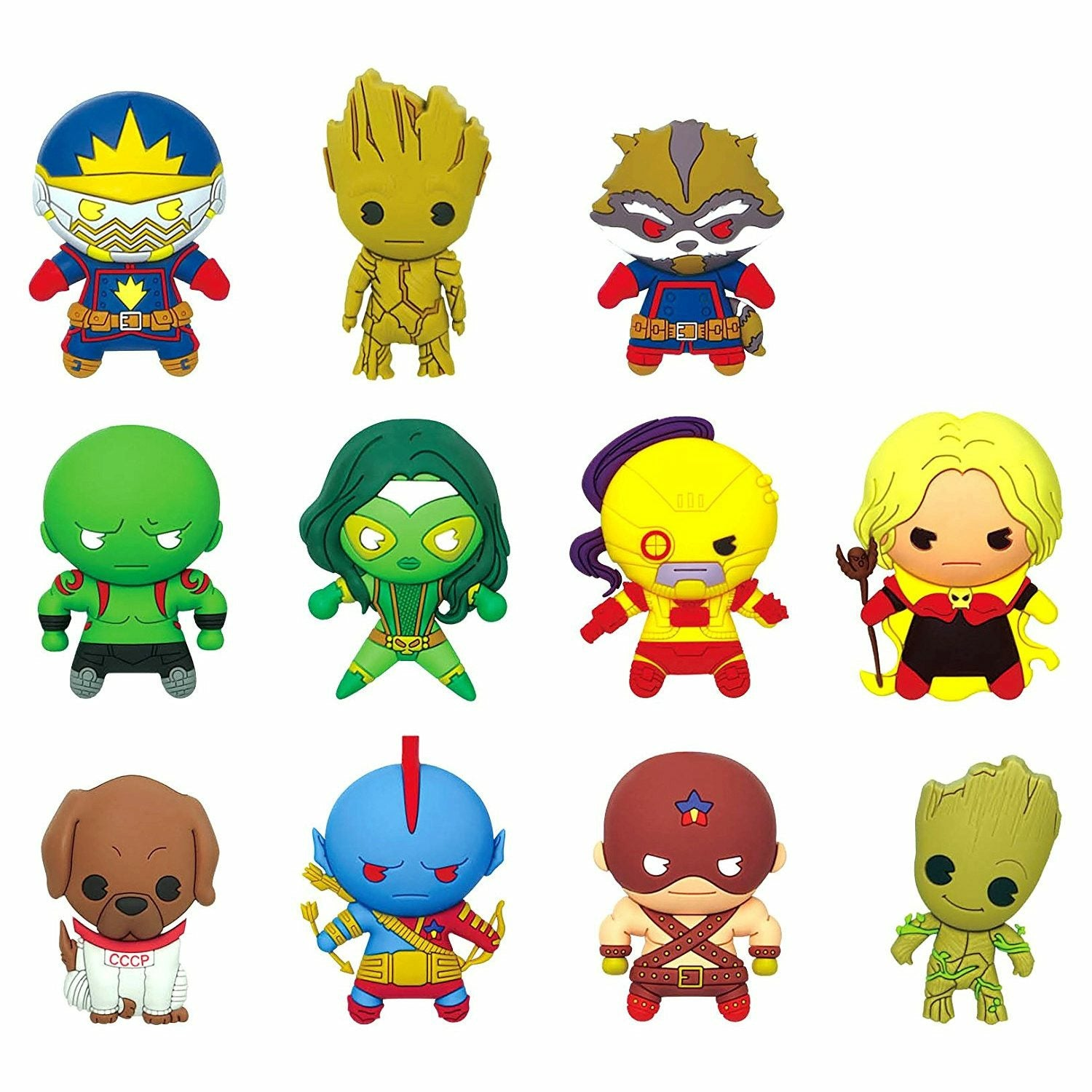 Marvel Guardians of the Galaxy Figural Keychain Mystery Pack (1 Random)