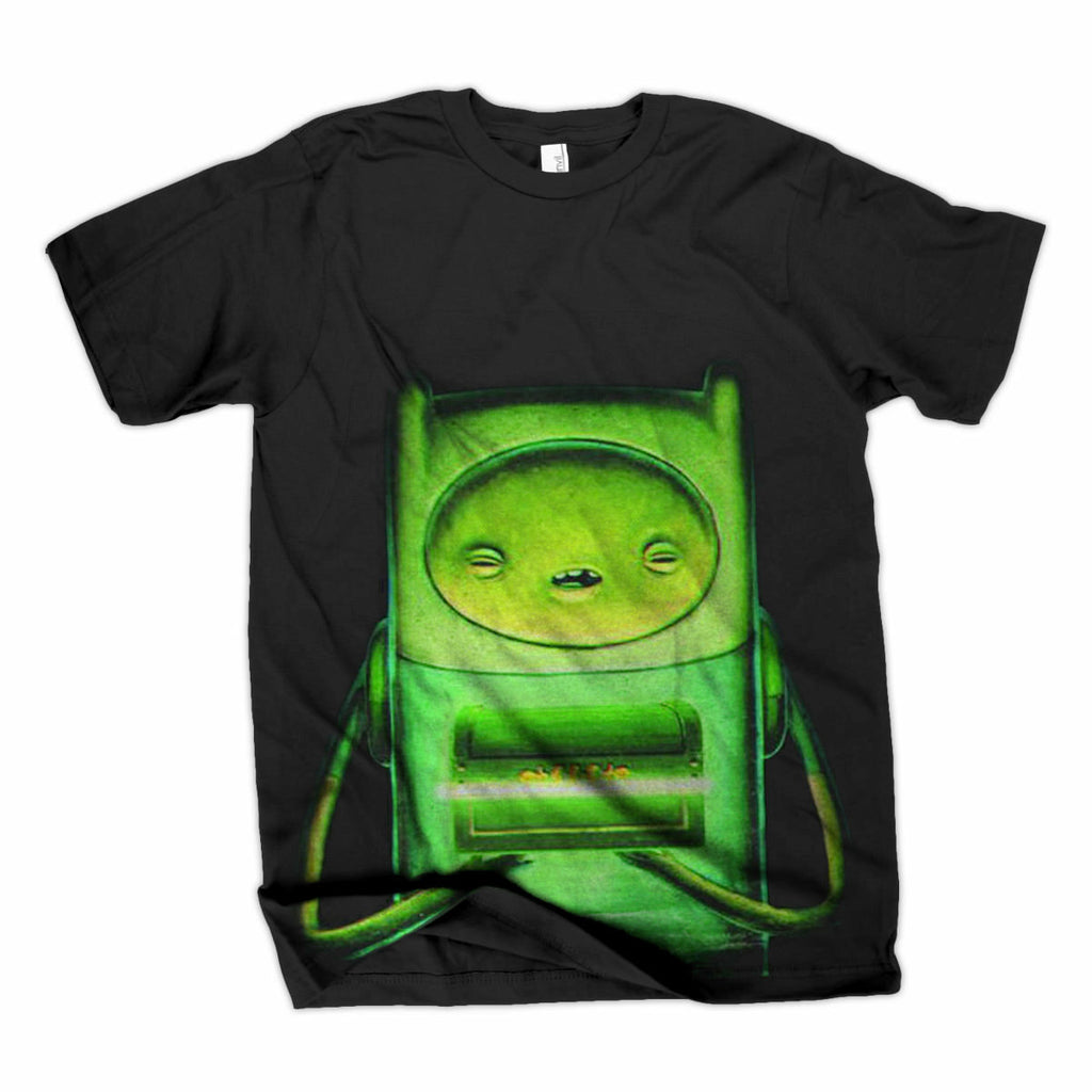 Adventure Time The Pods Black Men's T-Shirt | S