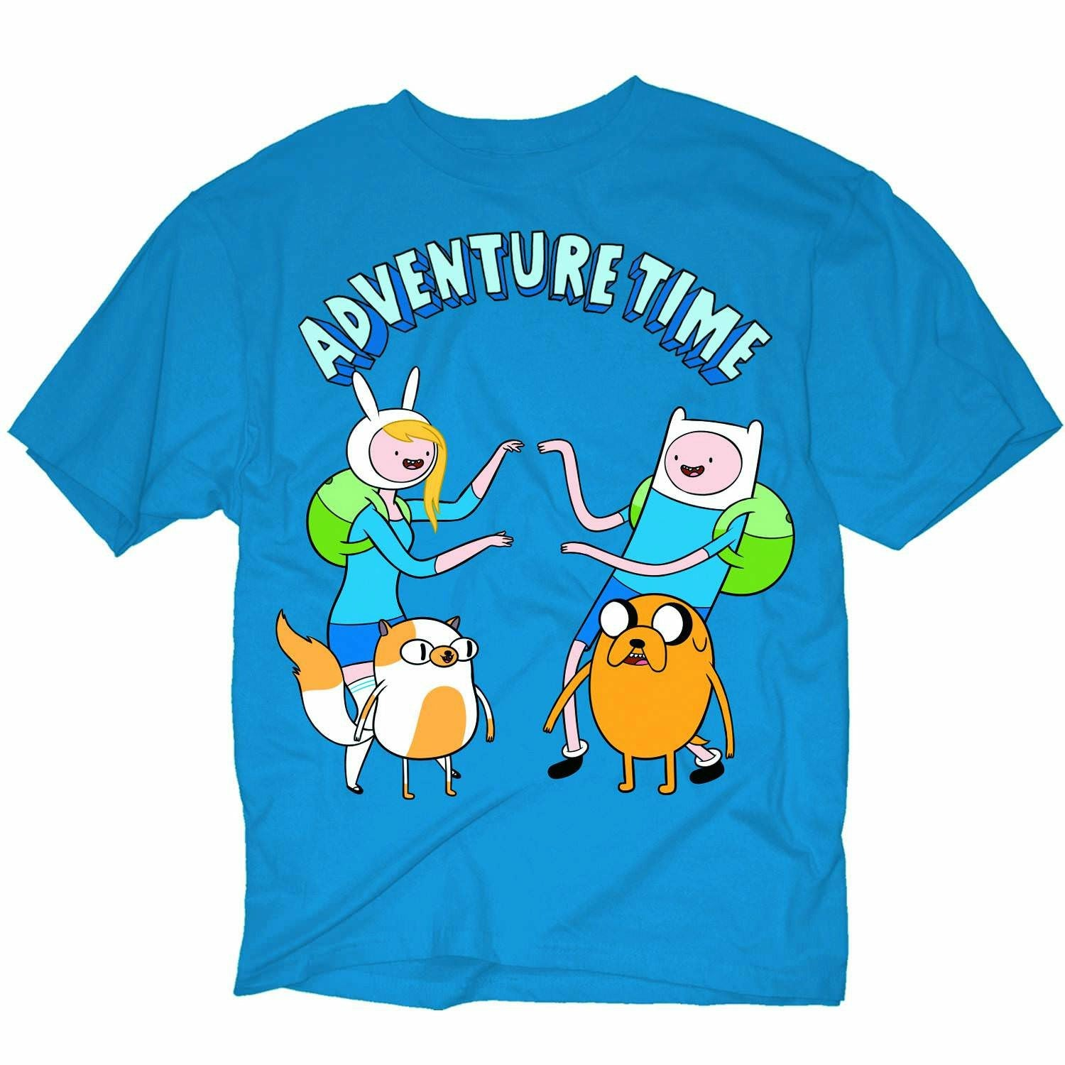 Adventure Time Twins Mens Blue T-Shirt | XL