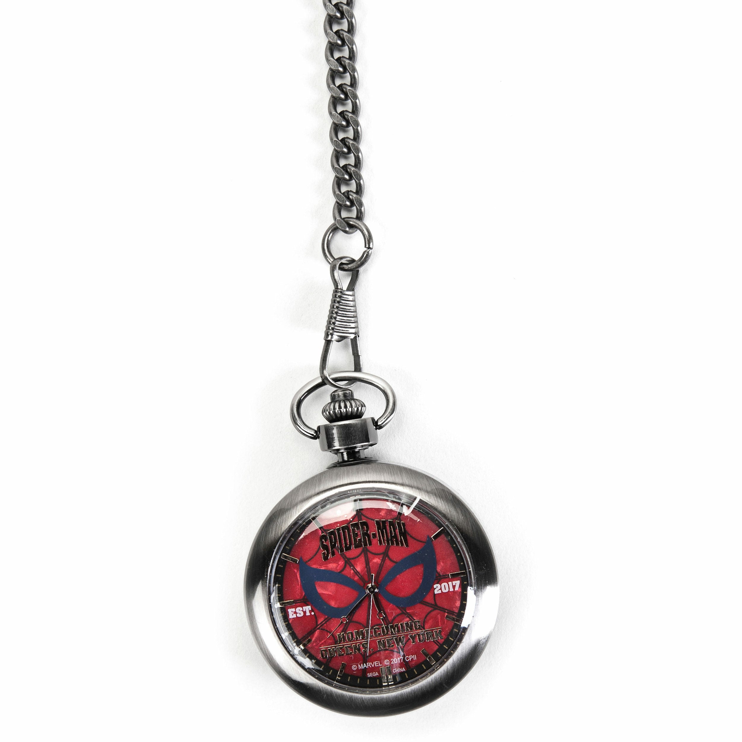 Marvel Spider-Man: Homecoming Logo Pocket Watch