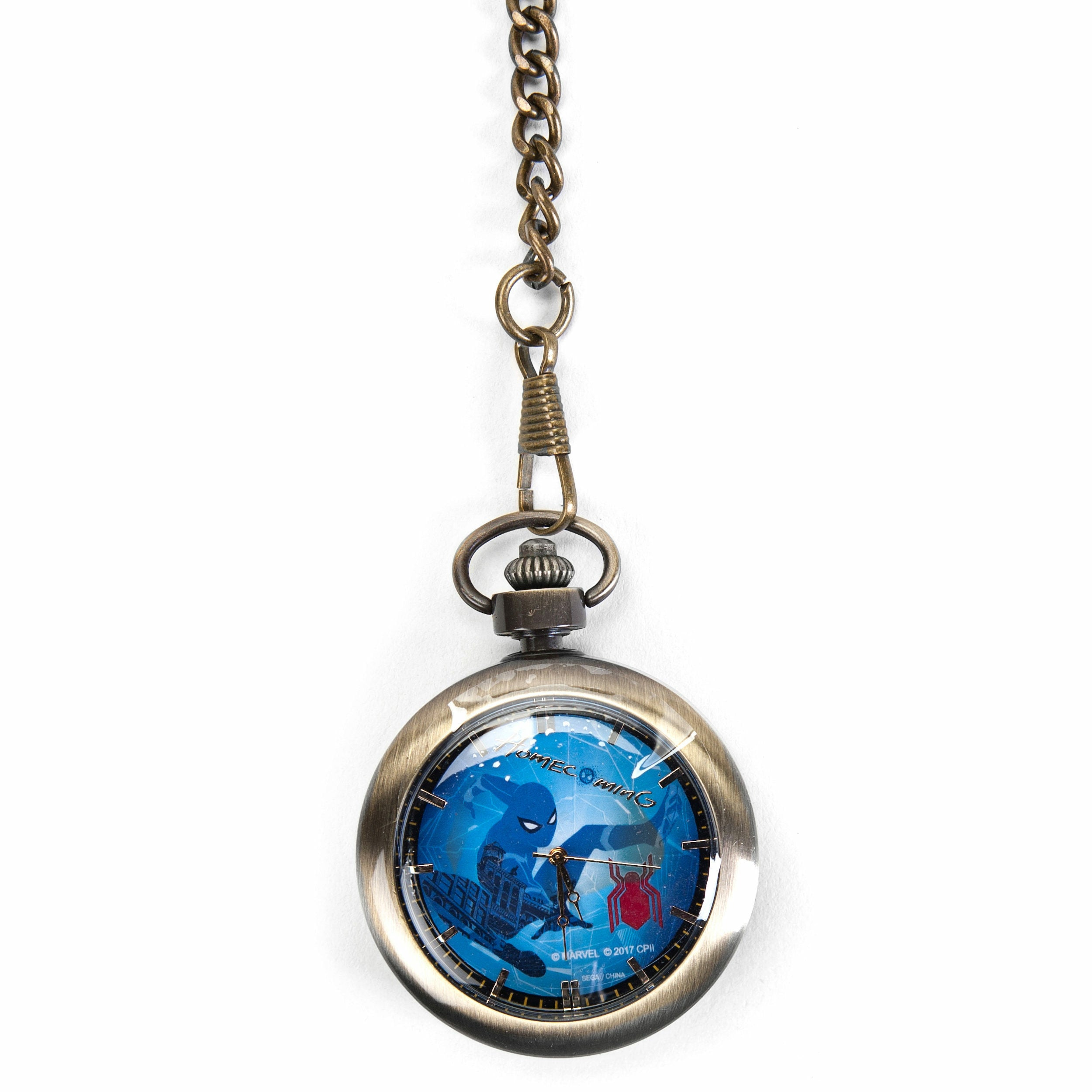 Marvel Spider-Man: Homecoming Spider-Man Swinging Pocket Watch