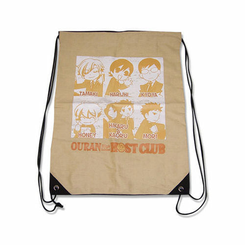 Ouran High School Host Club Group Drawstring Bag