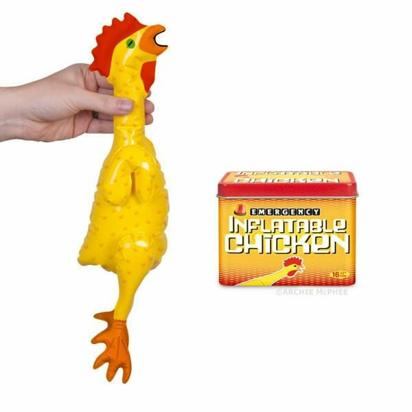 Emergency Inflatable Rubber Chicken