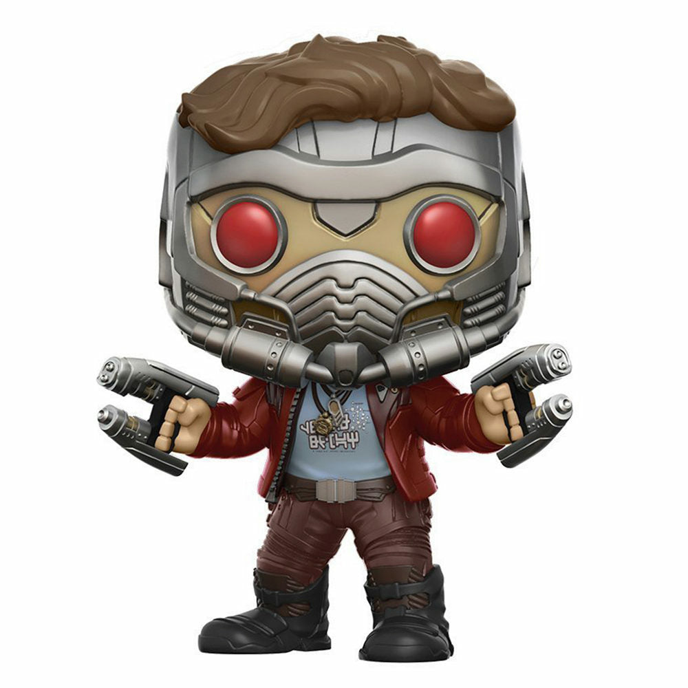 Marvel Guardians of the Galaxy 2 Star-Lord Chase Variant Bobblehead Pop! Figure