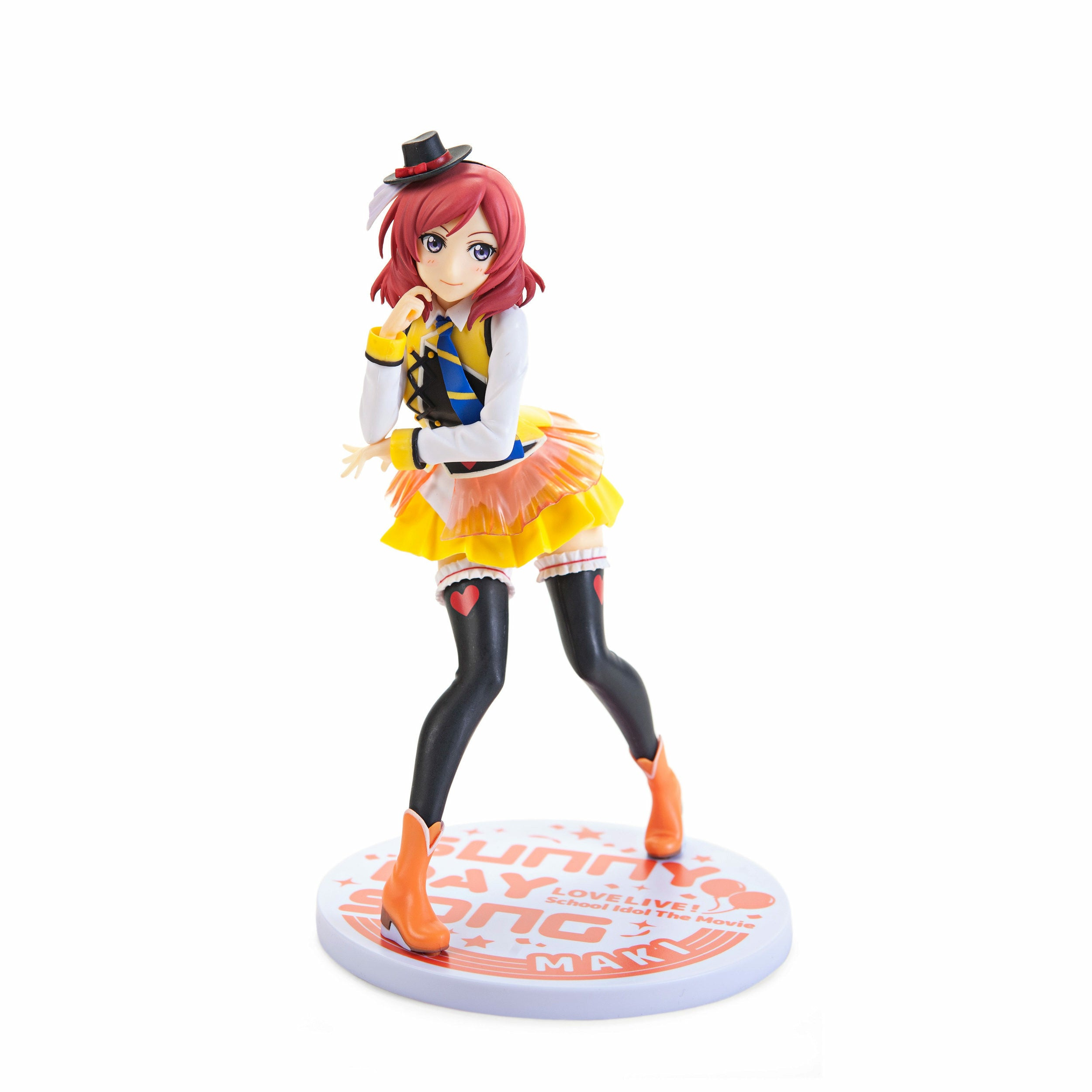 Love Live! The School Idol Movie Nishikino Maki Sunny Day Song Ver. PVC Figure