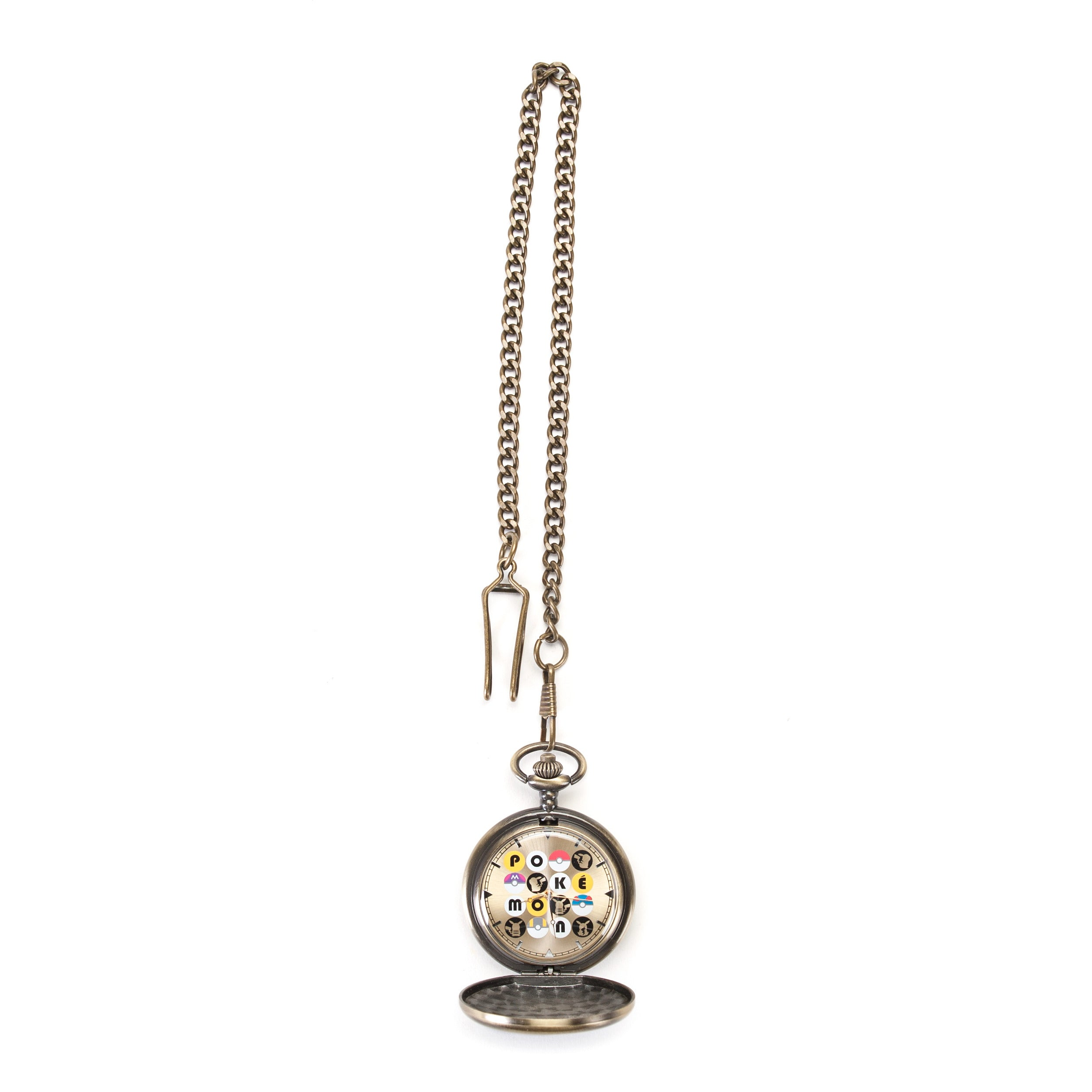Pokemon Poke Balls Pocket Watch