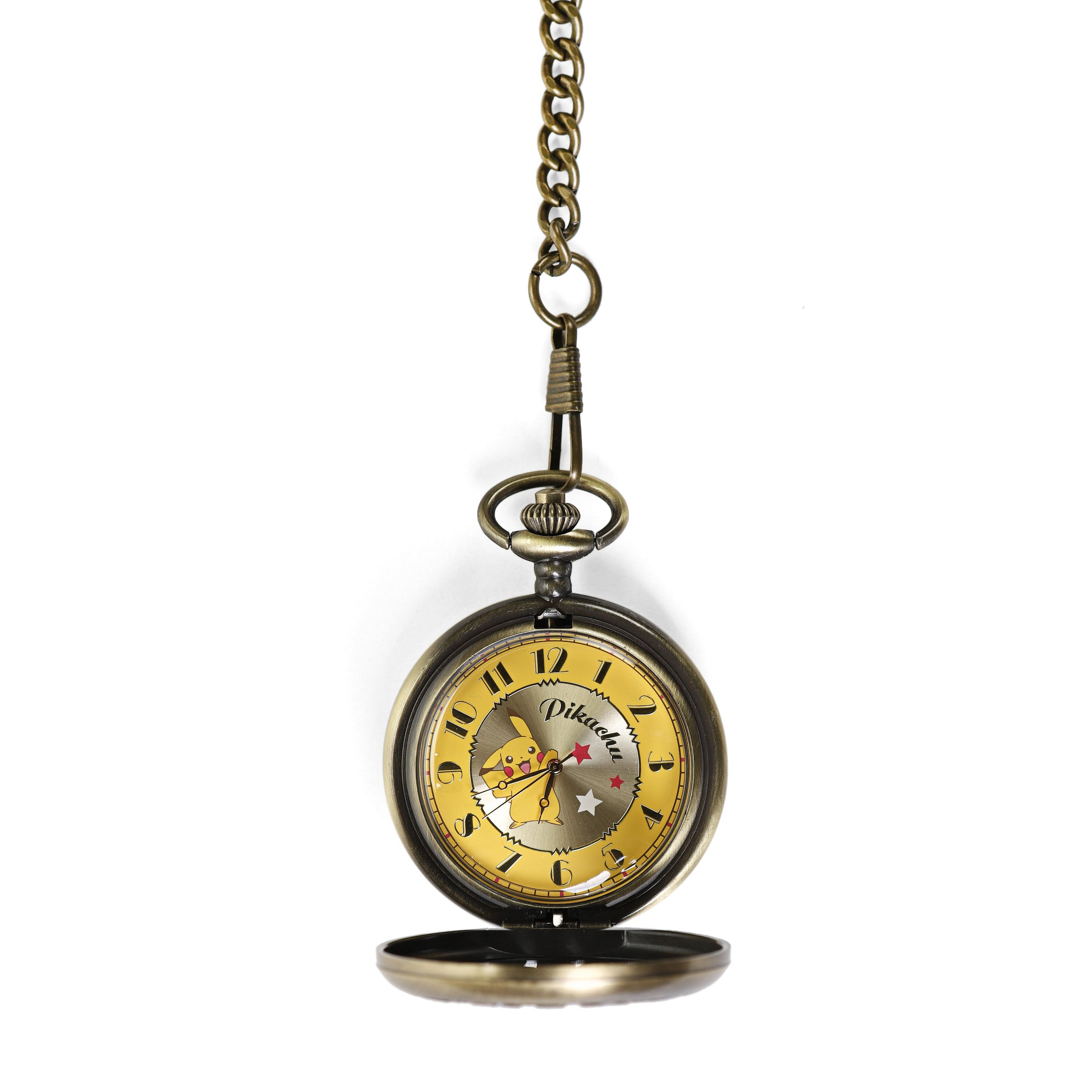 Pokemon Sun and Moon Pikachu Pocket Watch