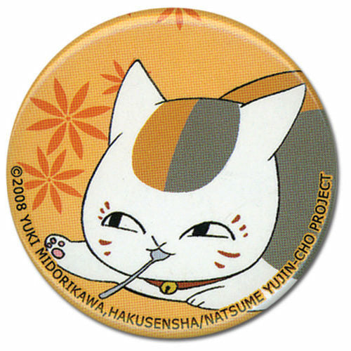 Natsumes Book Of Friends Nyanko Spoon Button
