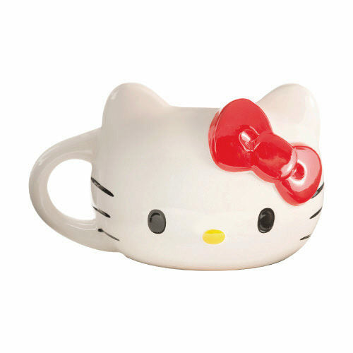 Hello Kitty Sculpted 18 oz Ceramic Mug