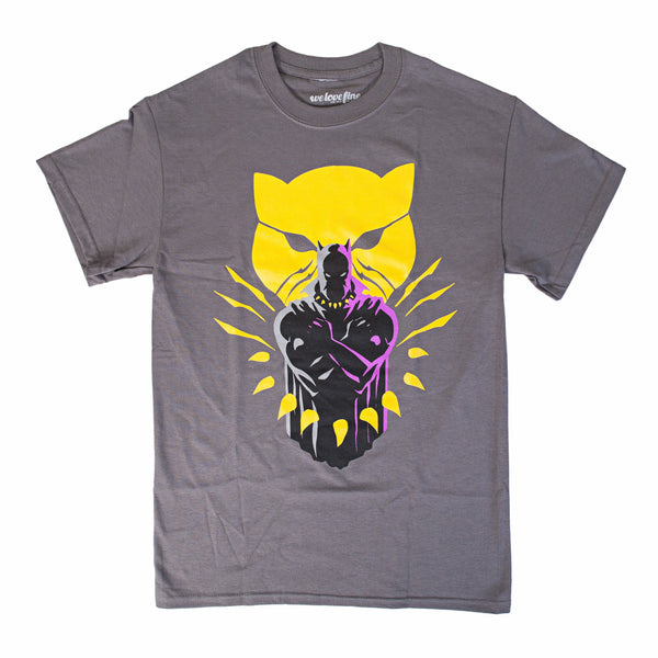 Marvel Black Panther Strong Panther Graphic T-Shirt