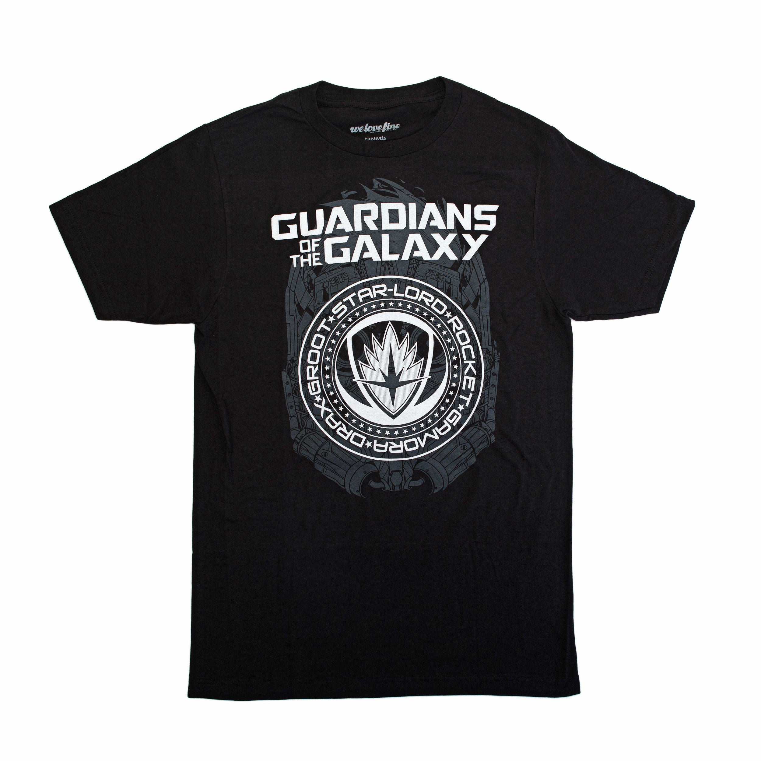 Marvel Guardians of the Galaxy 2 Crest Graphic T-Shirt