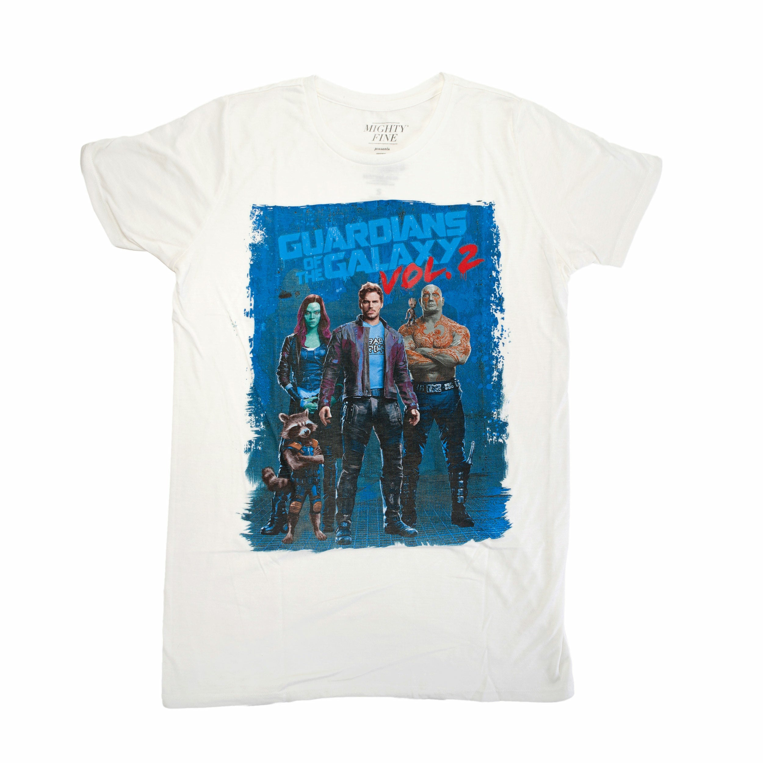 Guardians of the Galaxy Vol. 2 Lineup Poster Graphic Juniors T-Shirt