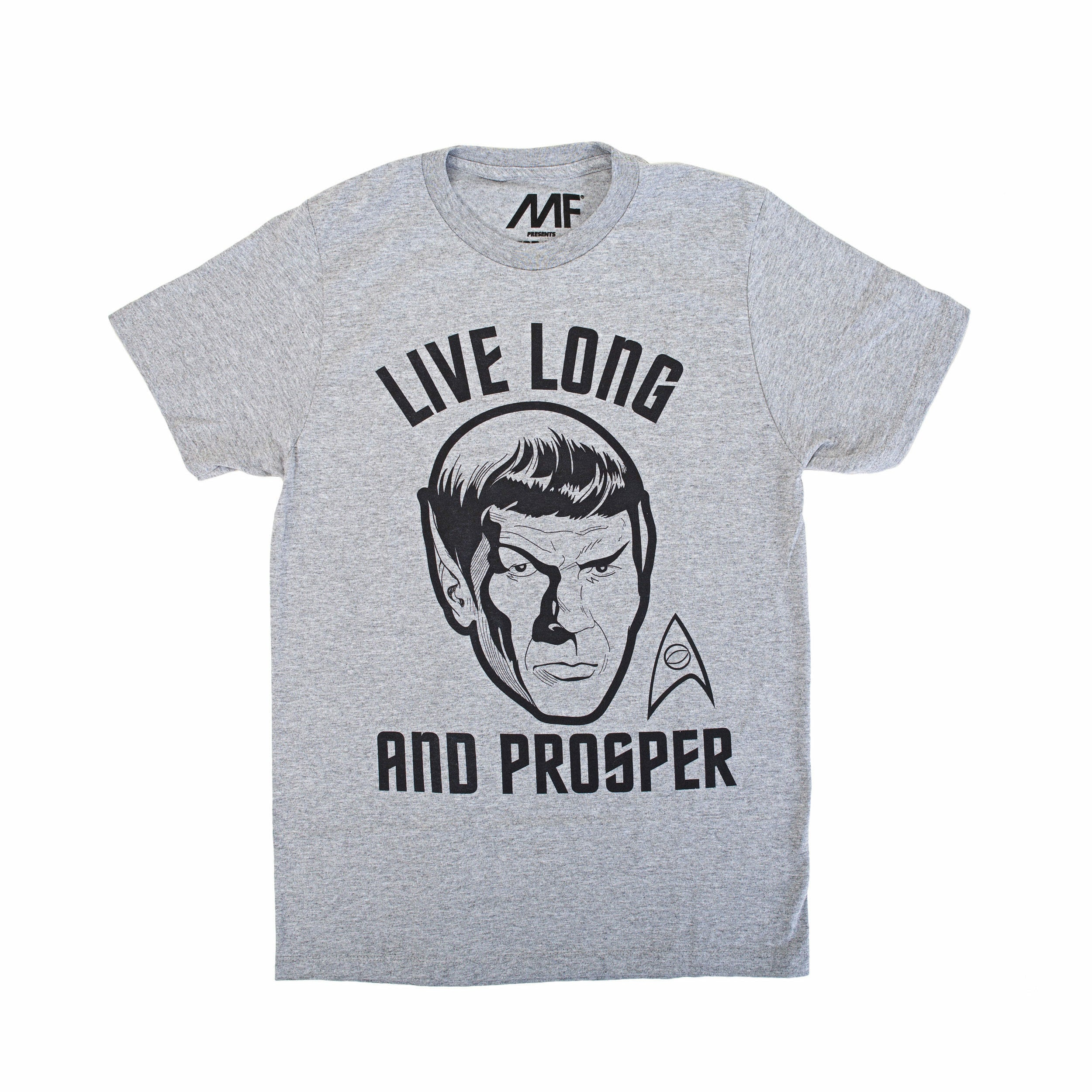 Star Trek Live Long and Prosper Graphic T-Shirt