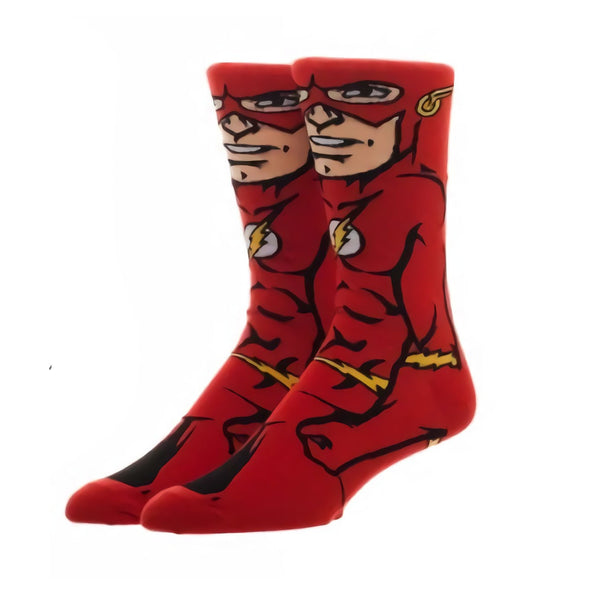 DC Comics The Flash 360 Crew Socks
