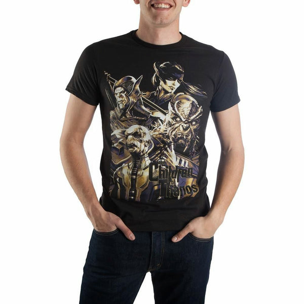 Marvel Avengers: Infinity War Children of Thanos Graphic T-Shirt