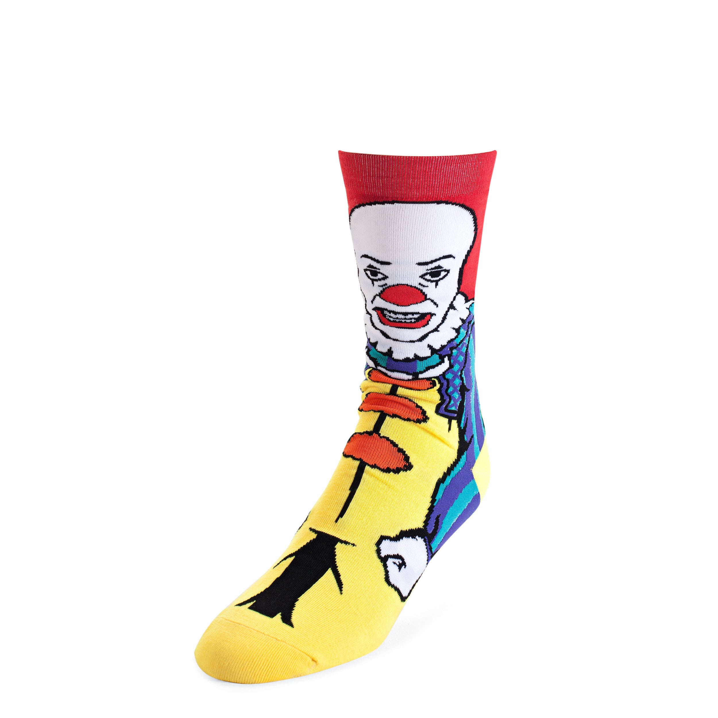 It Classic Pennywise 360 Graphic Crew Socks
