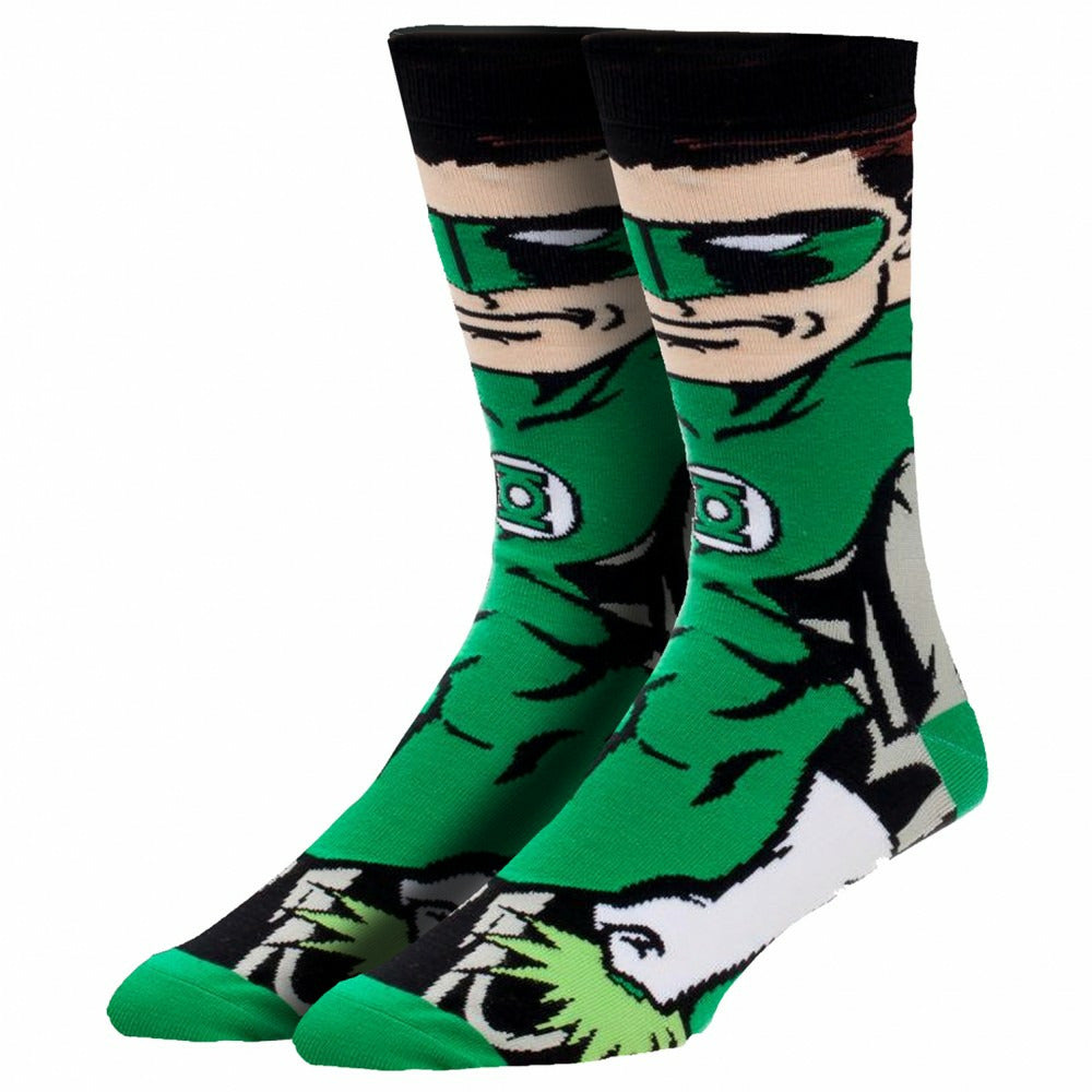 DC Comics Green Lantern 360 Crew Socks