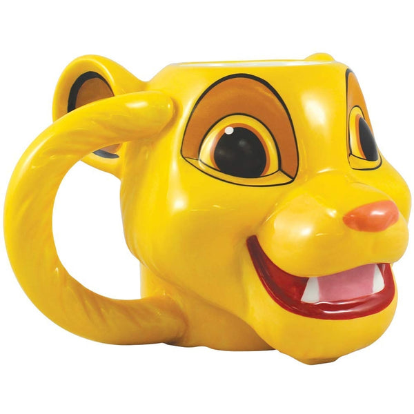 The Lion King Simba 16 oz. Sculpted Ceramic Mug