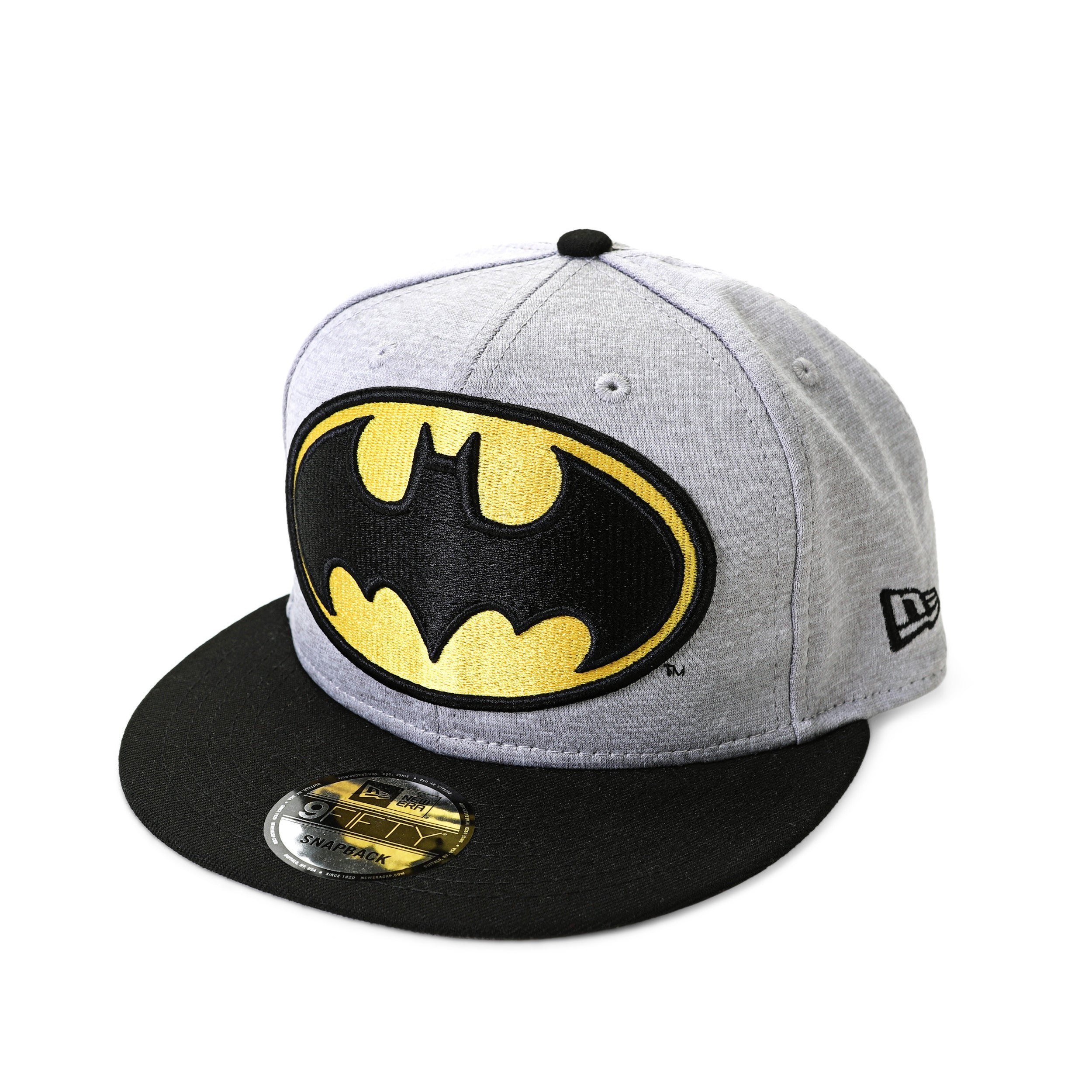 DC Comics Batman Huge Logo 950 Heather Snapback Baseball Cap