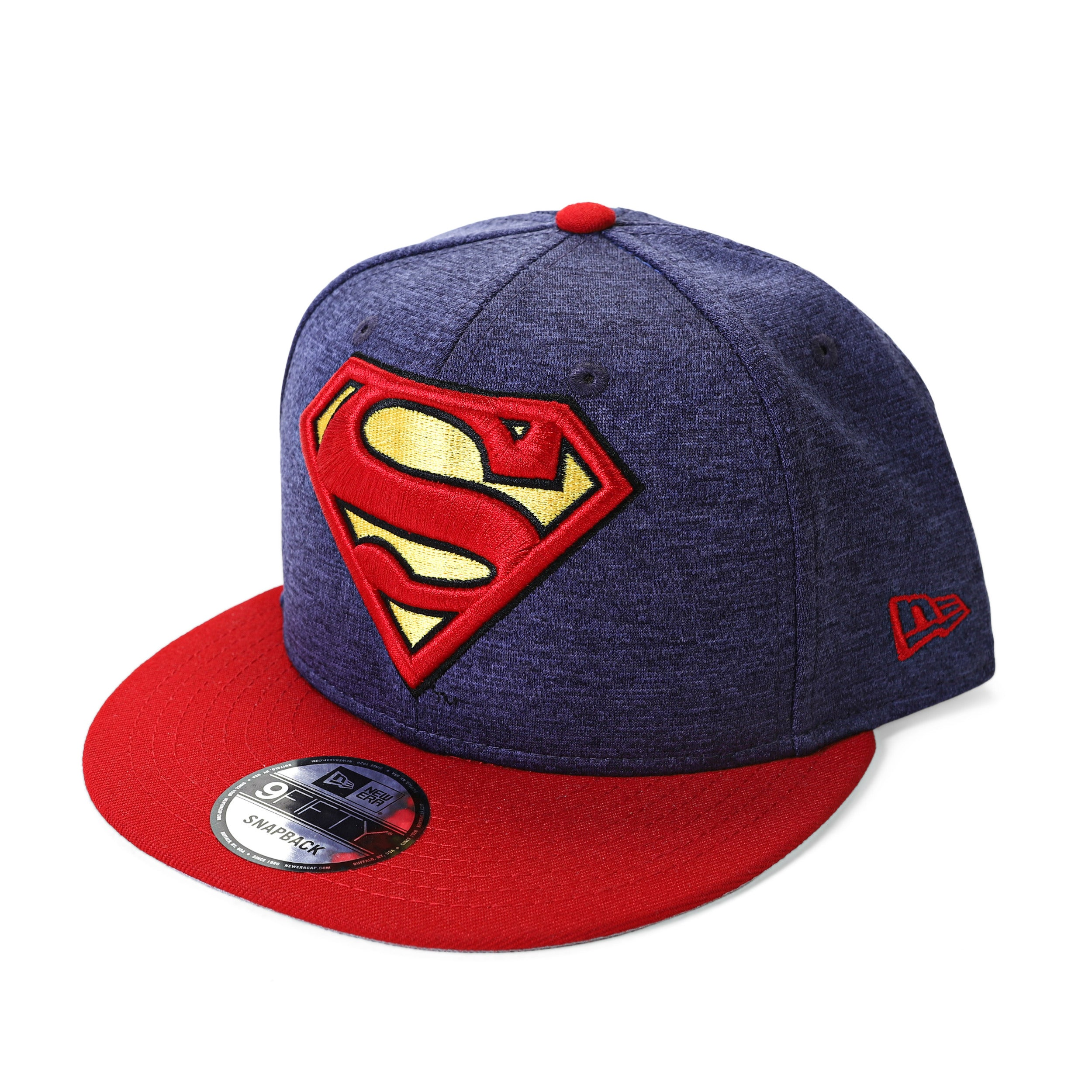 DC Comics Superman Huge Logo 950 Heather Snapback Baseball Cap
