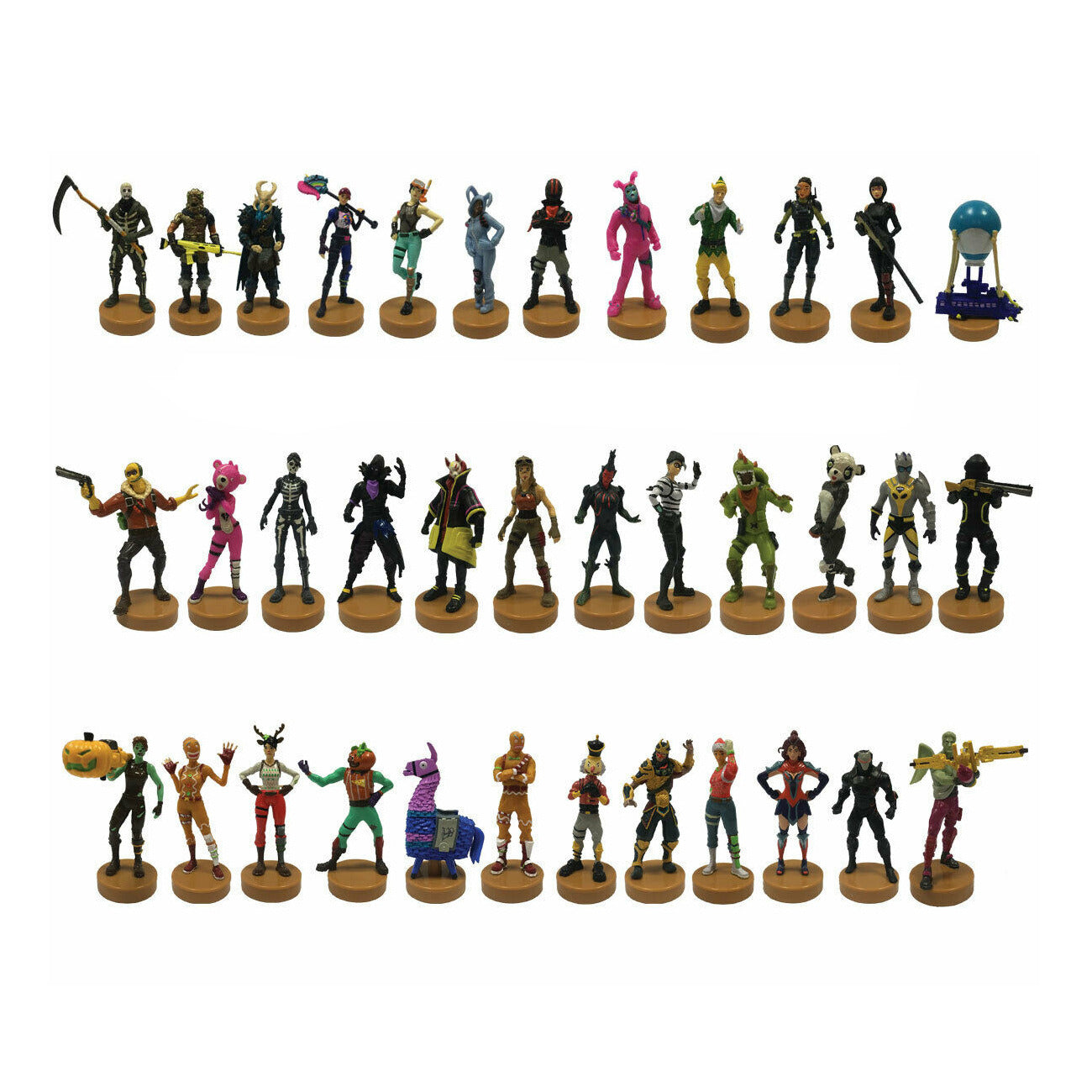 Fortnite Stampers Series - Set of 3 Random Figures