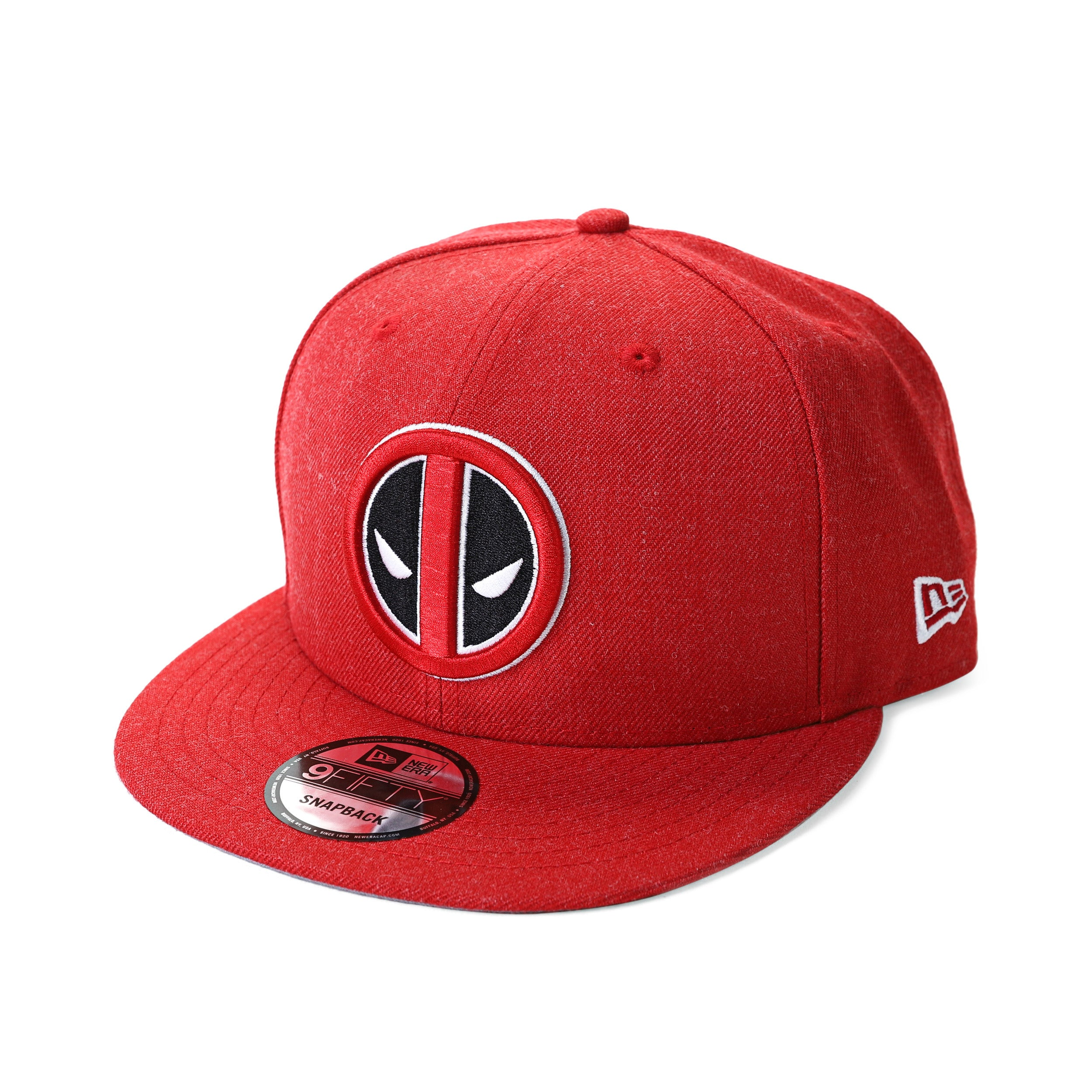 Marvel Deadpool Logo Heather Snapback Baseball Cap