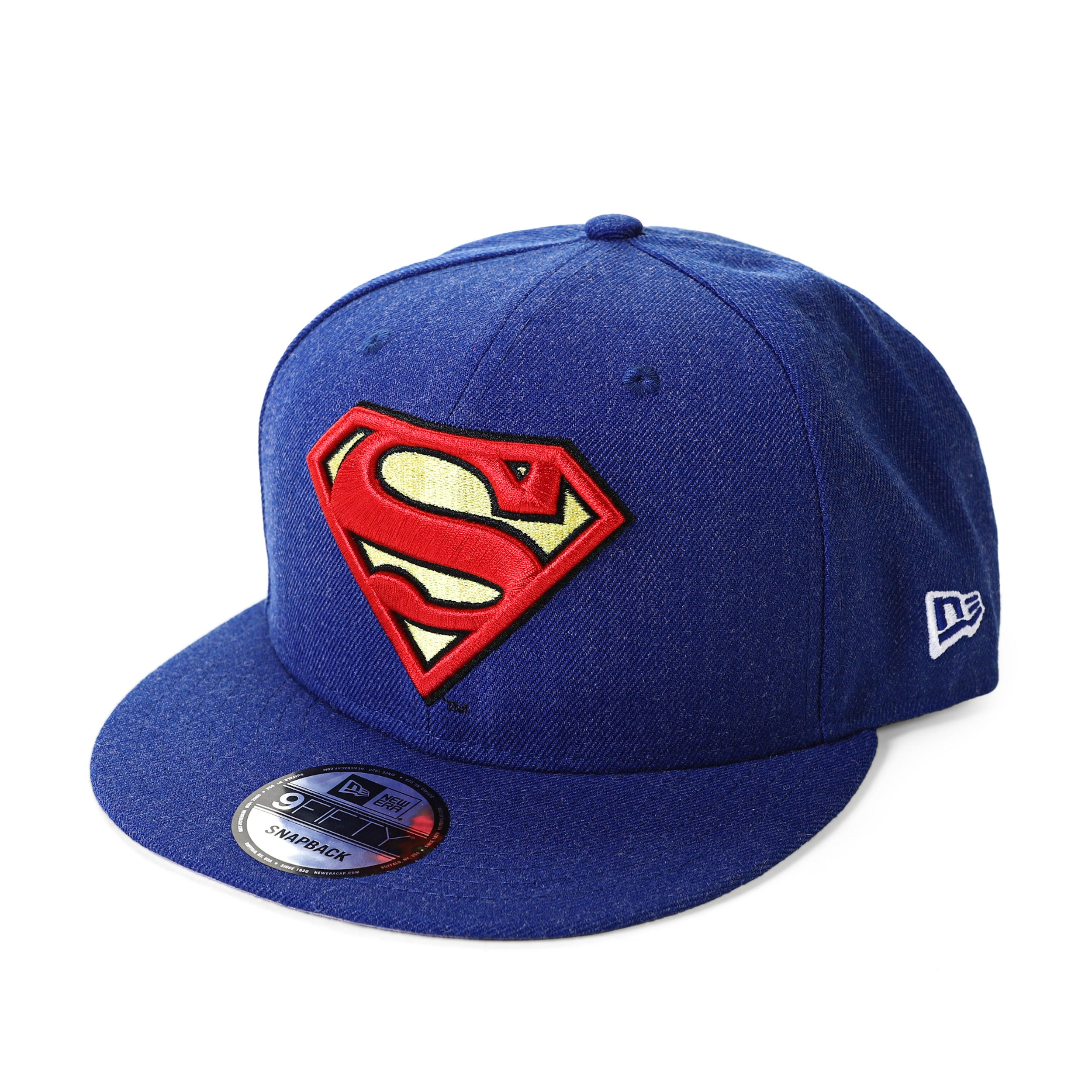 DC Comics Superman Logo Heather Snapback Baseball Cap