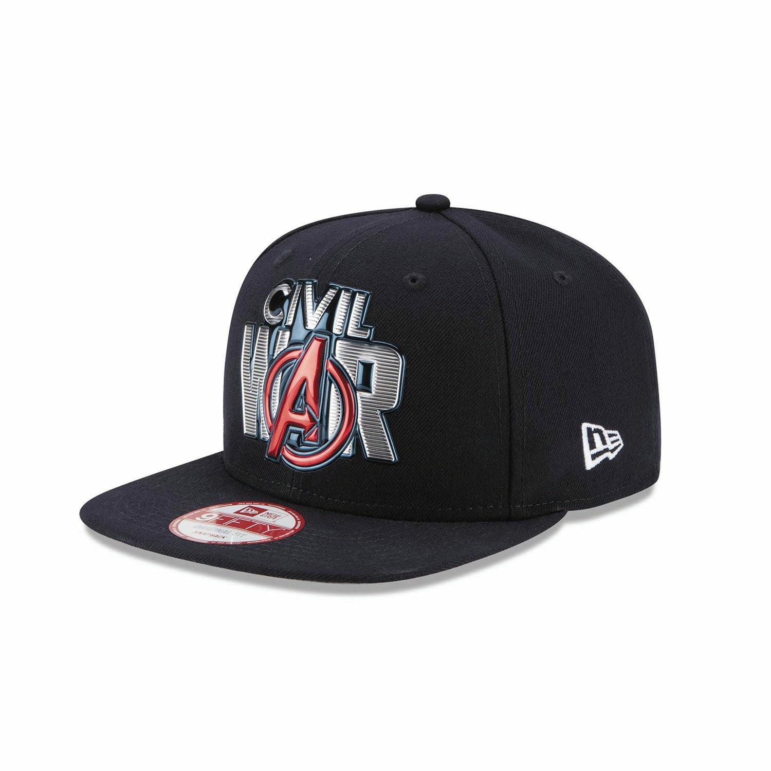 Marvel Captain America 3 Civil War Title Chrome 950 Snapback Baseball Cap