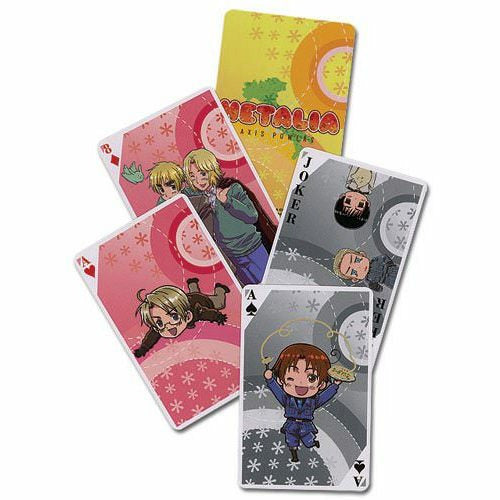 Hetalia Axis Powers Poker Playing Cards